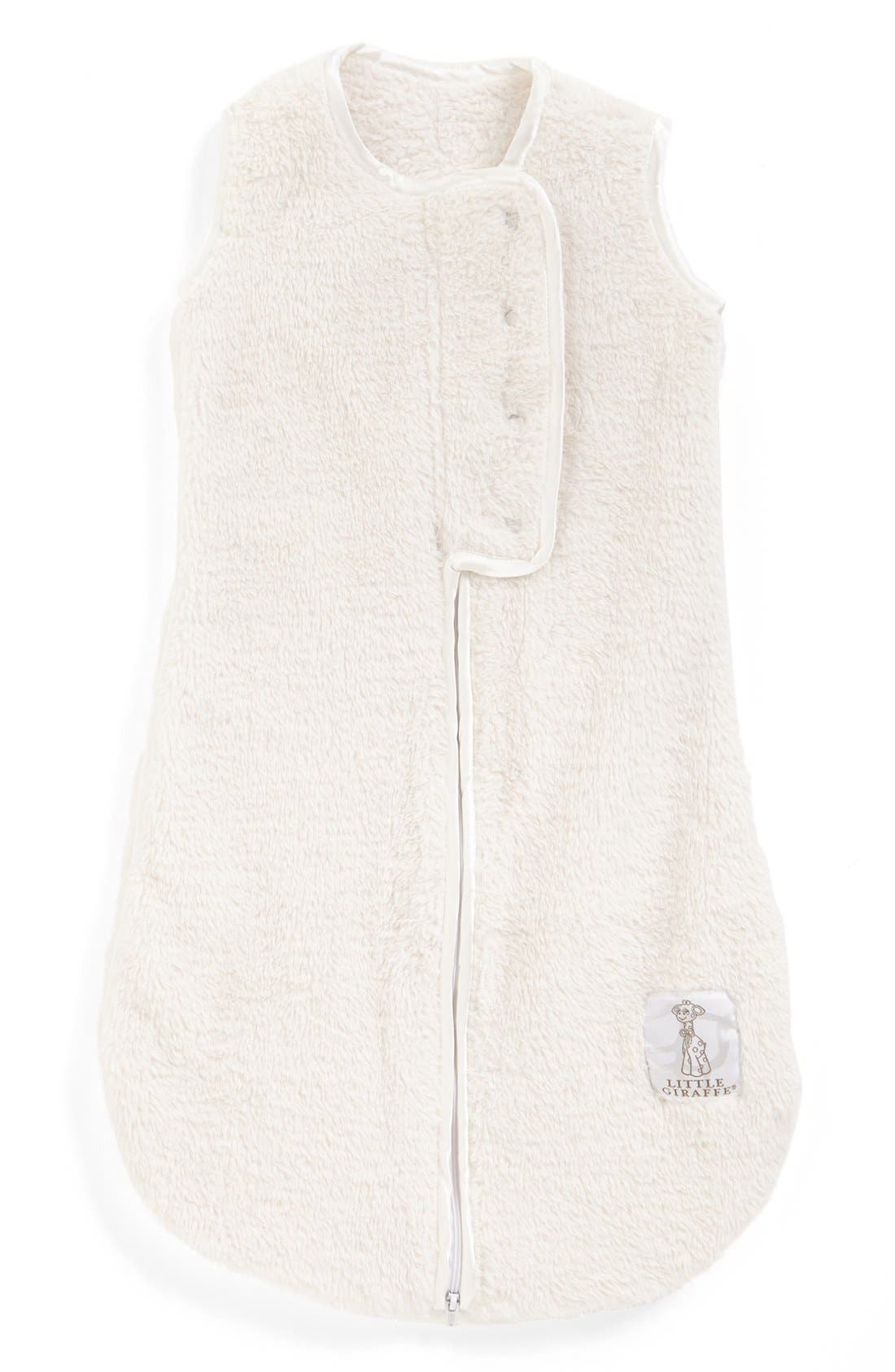 Dream Sack<sup>™</sup> Chenille Wearable Blanket,                         Main,                         color, Cream