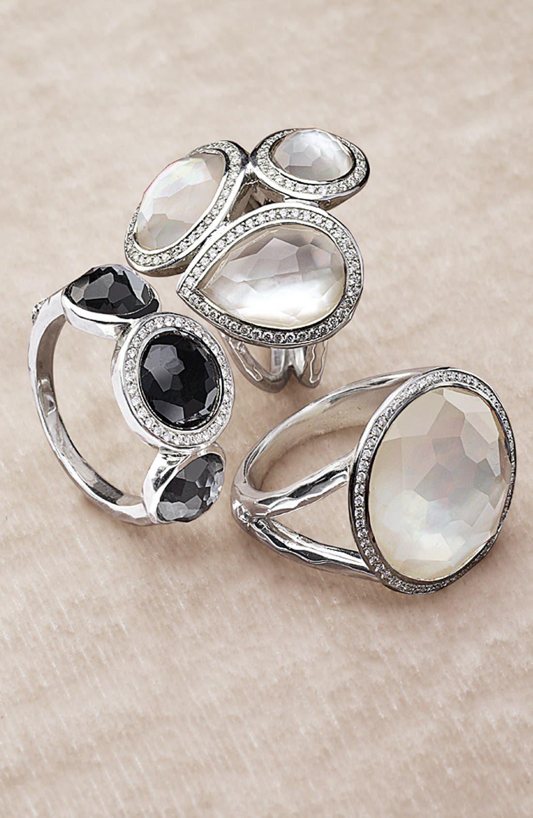 Alternate Image 2  - Ippolita 'Stella - Lollipop' 3-Stone Ring with Diamonds