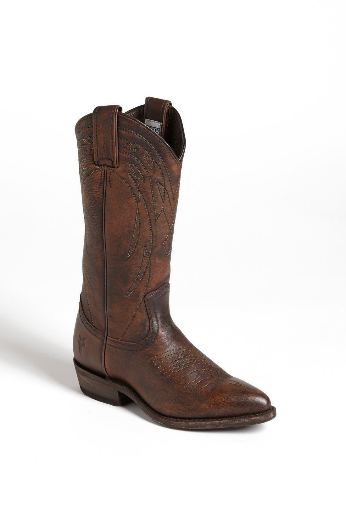 Frye 'Billy' Leather Western Boot (Women)