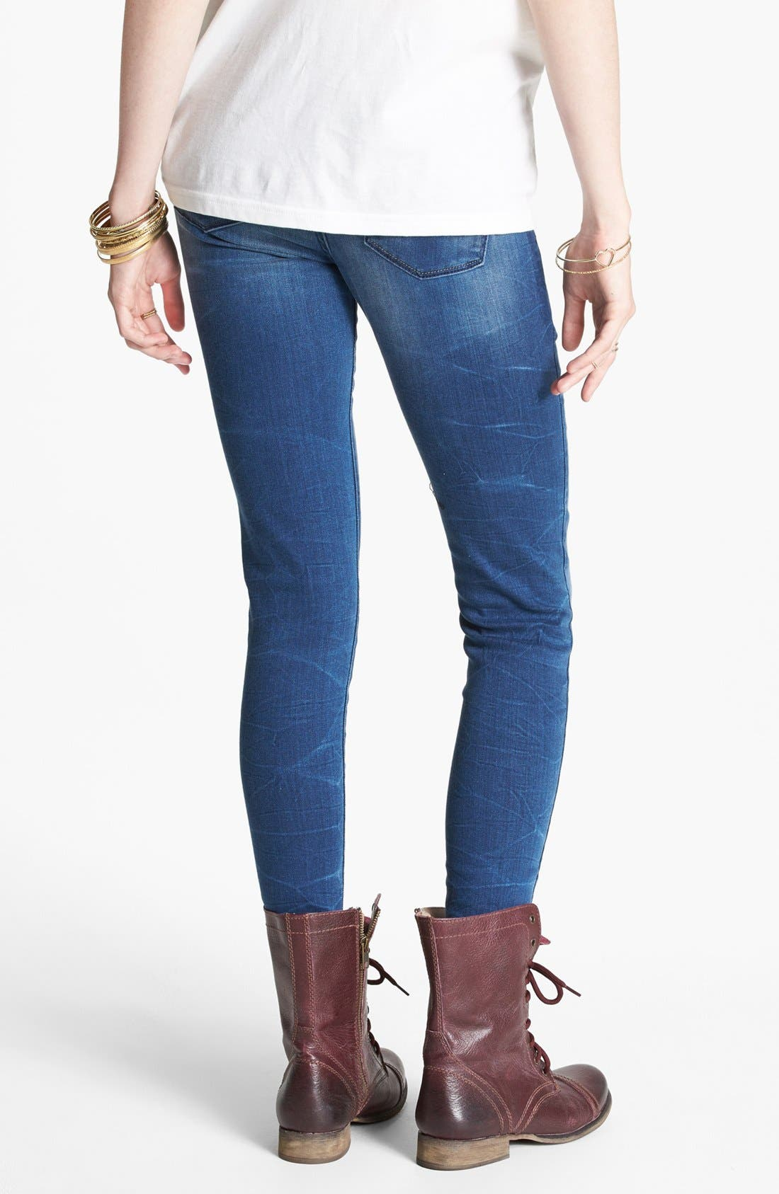 Alternate Image 2  - Levi's® 'Core Better Legging' Skinny Jeans (Blue)
