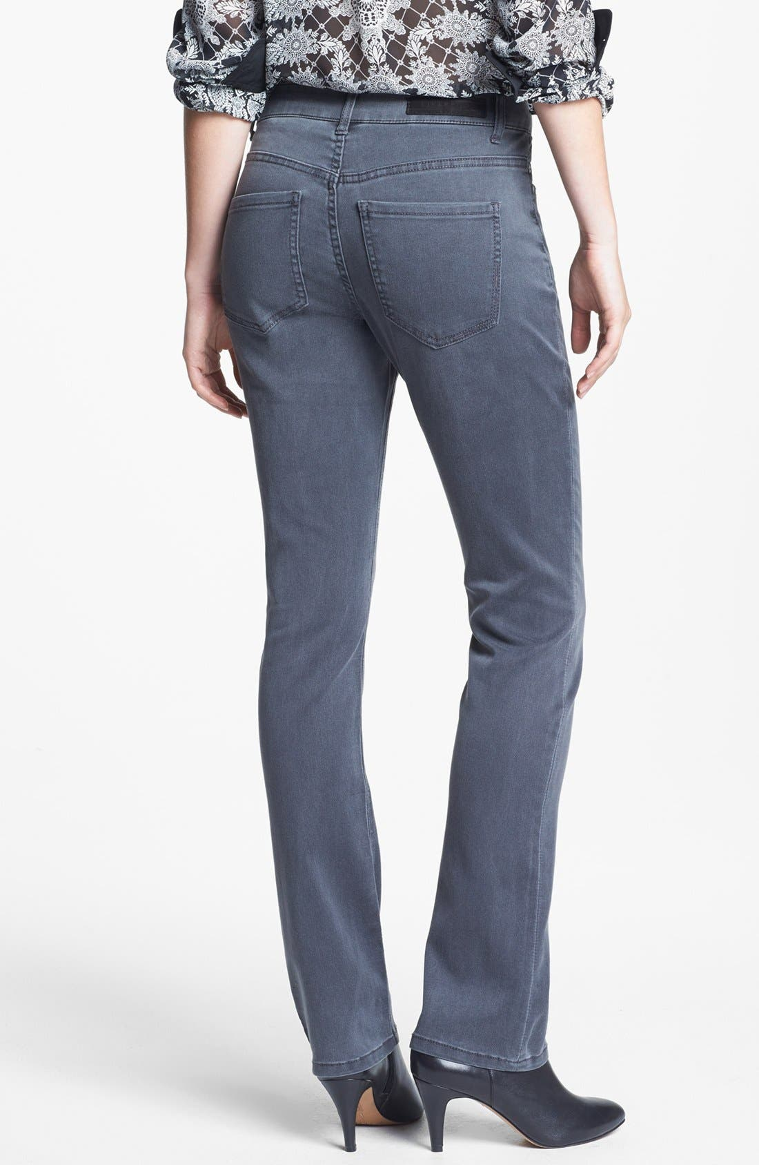 Alternate Image 2  - Liverpool Jeans Company 'Sadie' Straight Leg Supersoft Stretch Jeans (Regular & Petite)