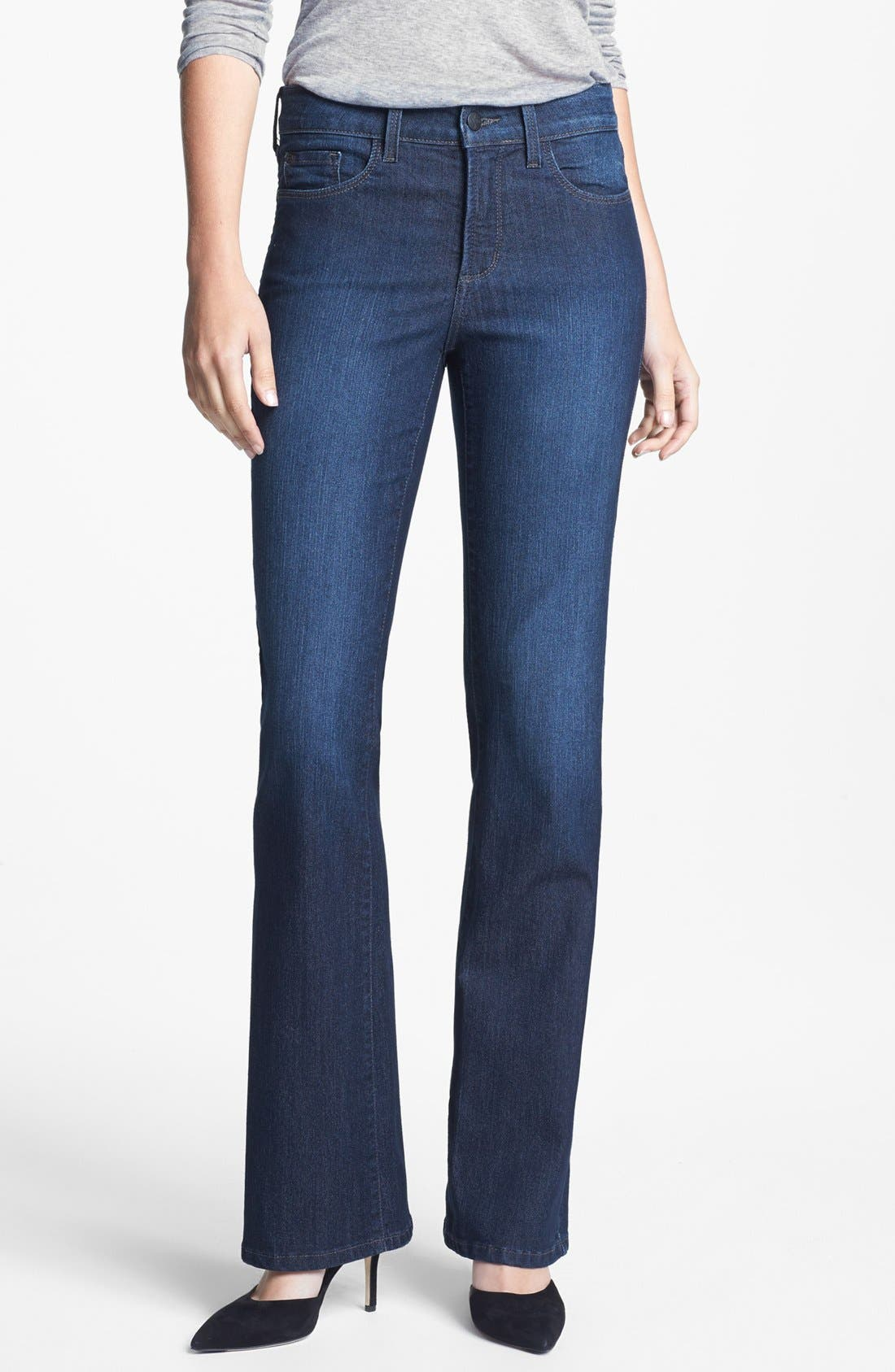 Alternate Image 1 Selected - NYDJ 'Barbara' Stretch Bootcut Jeans (Burbank)