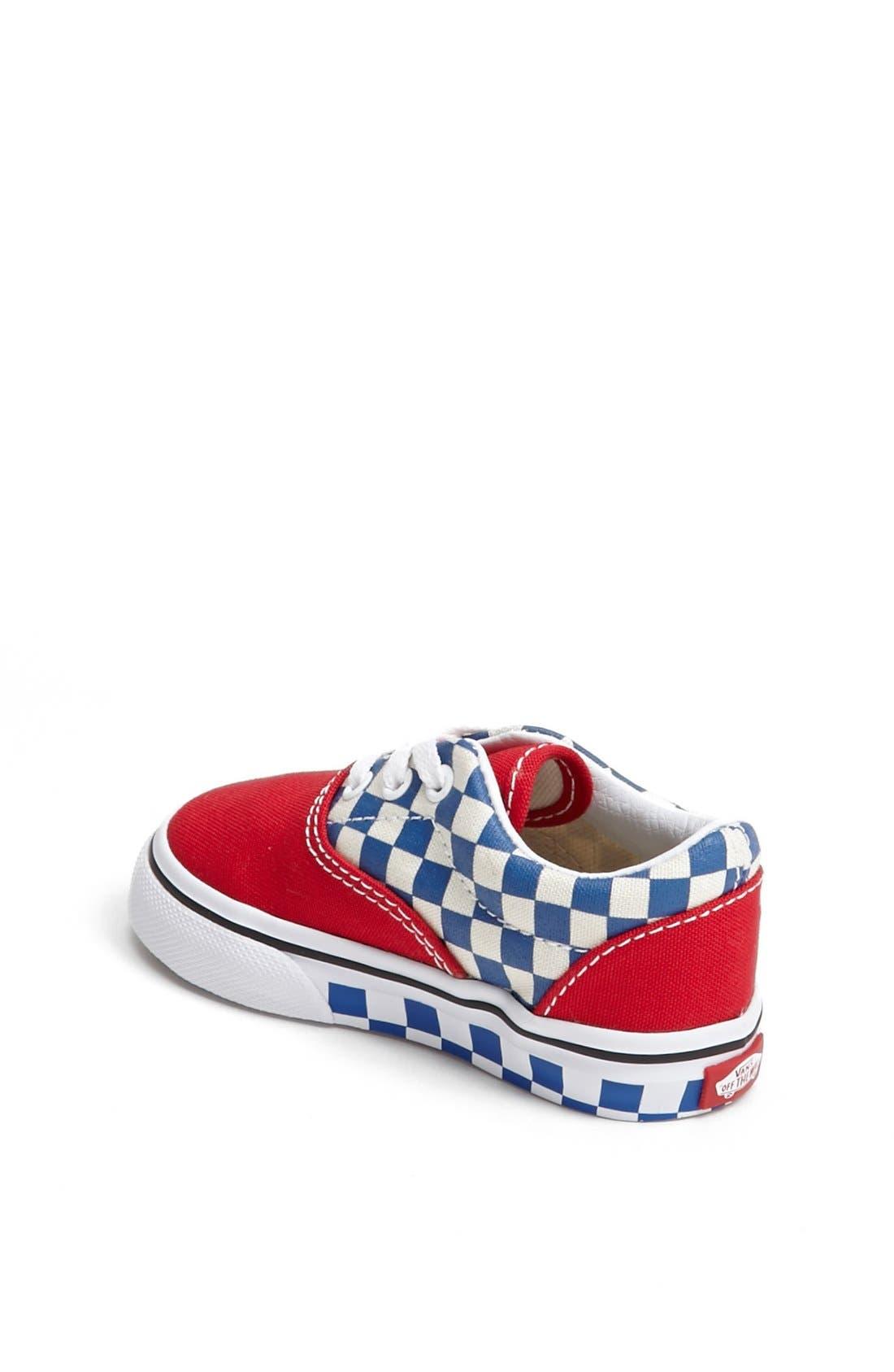 Alternate Image 2  - Vans 'Era - Checkerboard' Sneaker (Baby, Walker & Toddler)