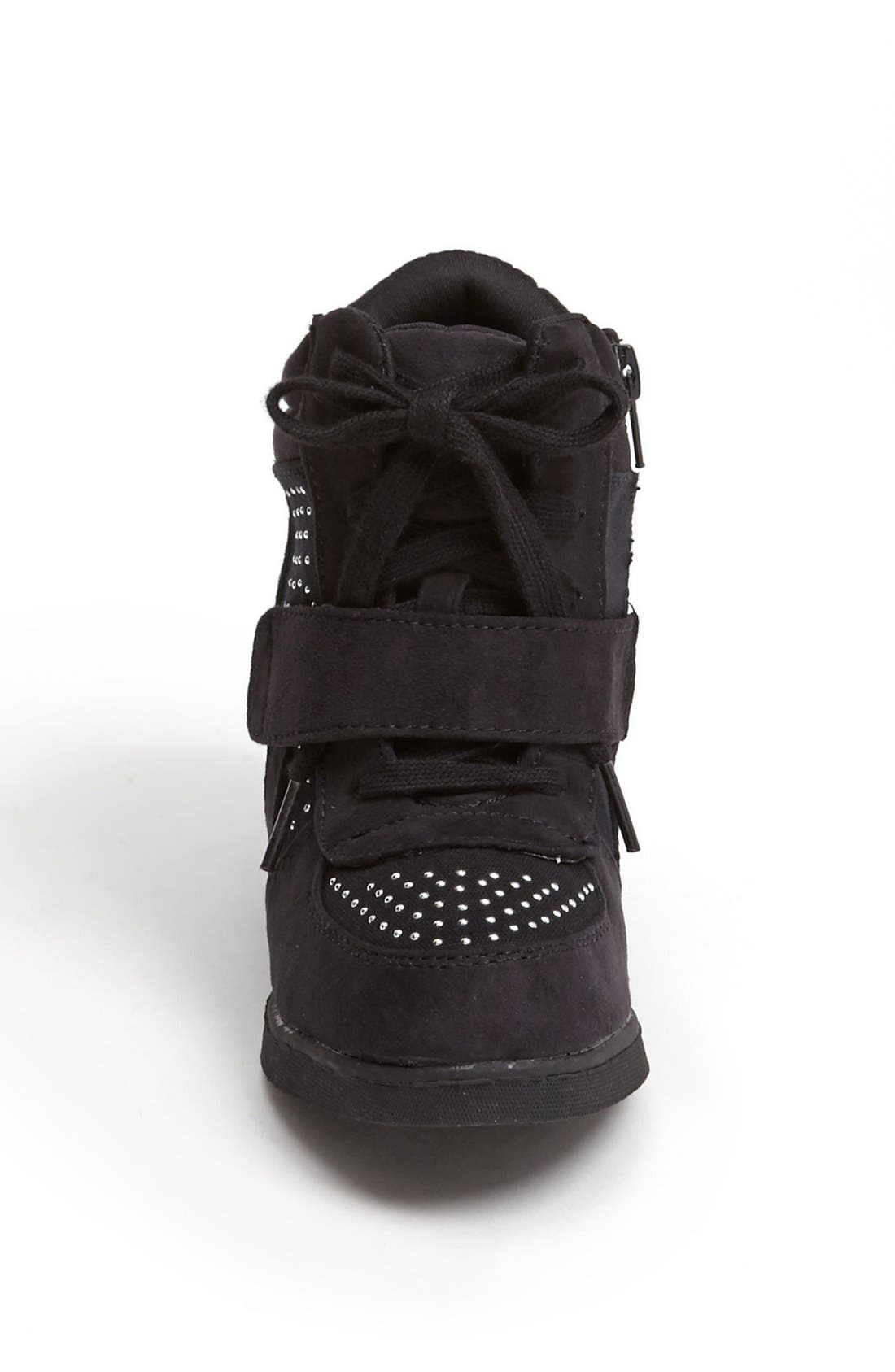 Alternate Image 3  - Steve Madden 'Glamm' Sneaker Wedge (Little Kid & Big Kid)