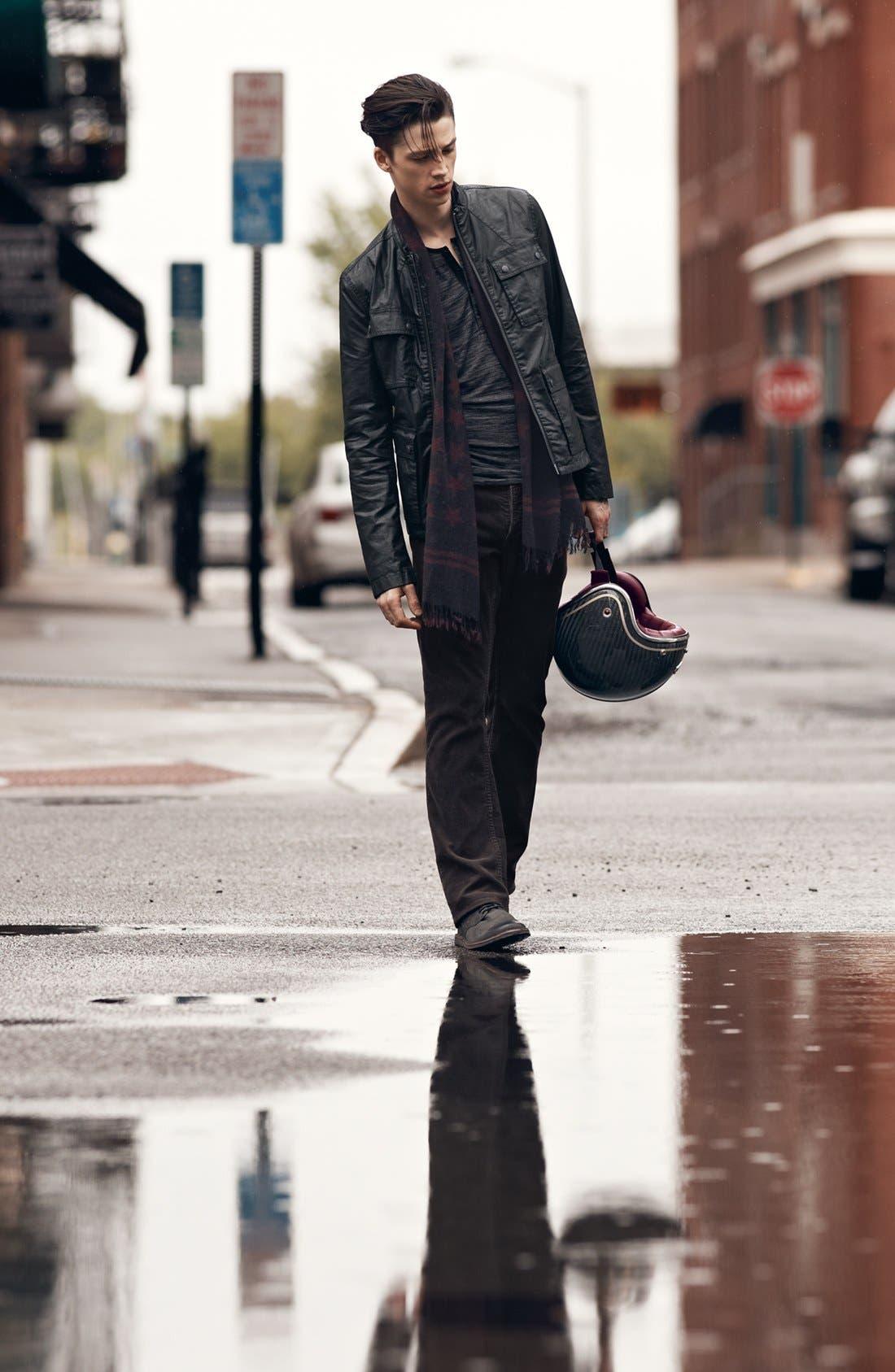 Main Image - John Varvatos Star USA Jacket, T-Shirt & Straight Leg Pants