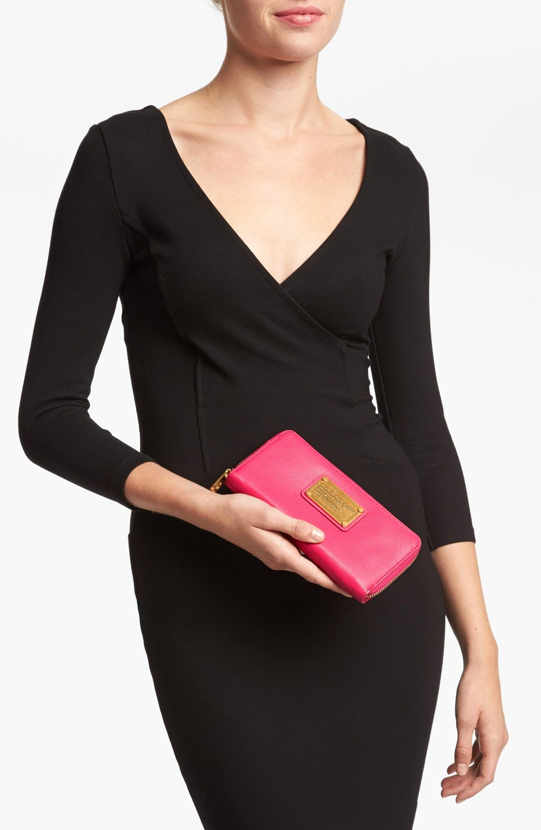 Alternate Image 2  - MARC BY MARC JACOBS 'Classic Q - Vertical Zippy' Wallet