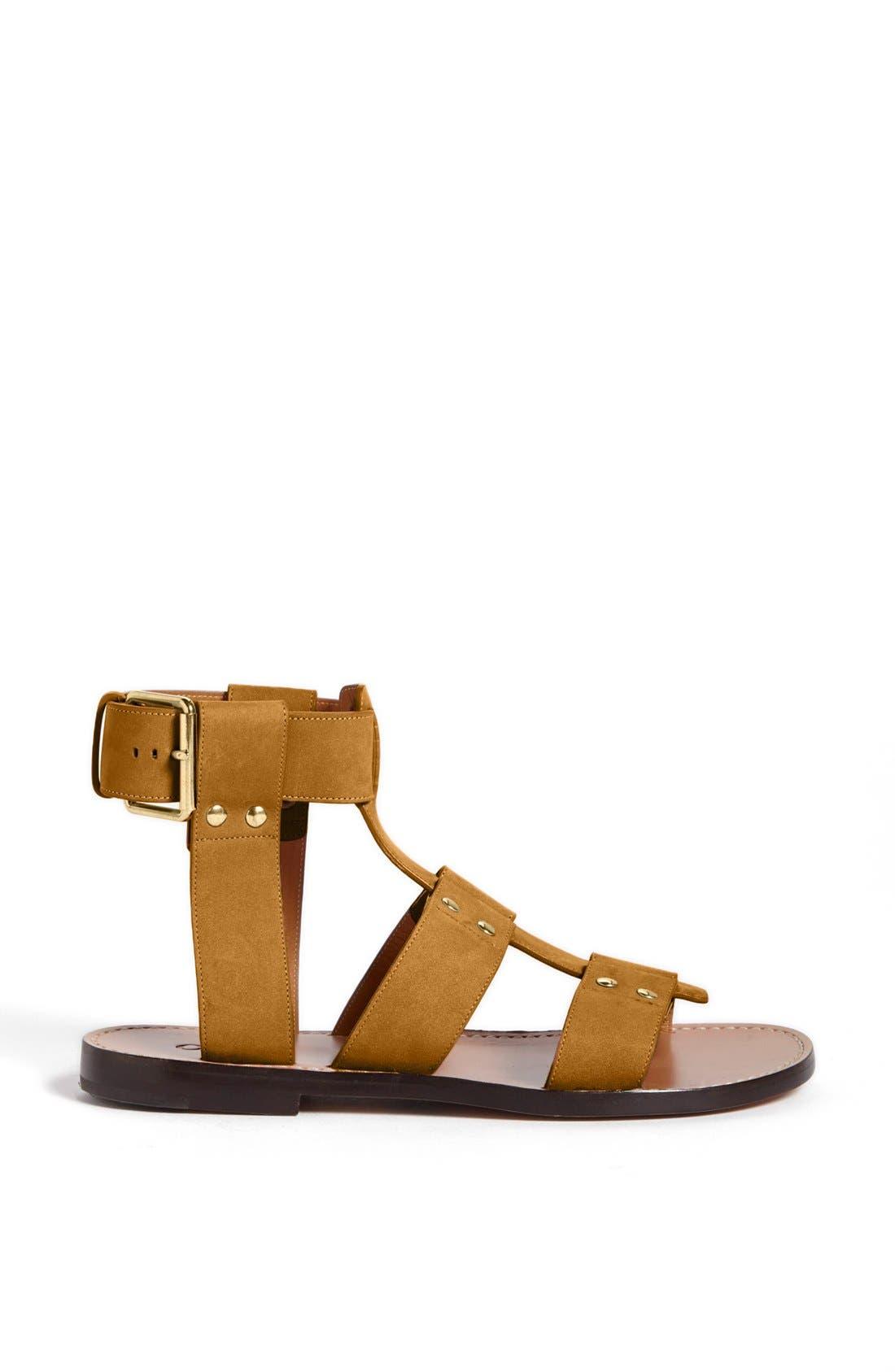 Alternate Image 4  - Chloé 'Alaska' Flat Gladiator Sandal