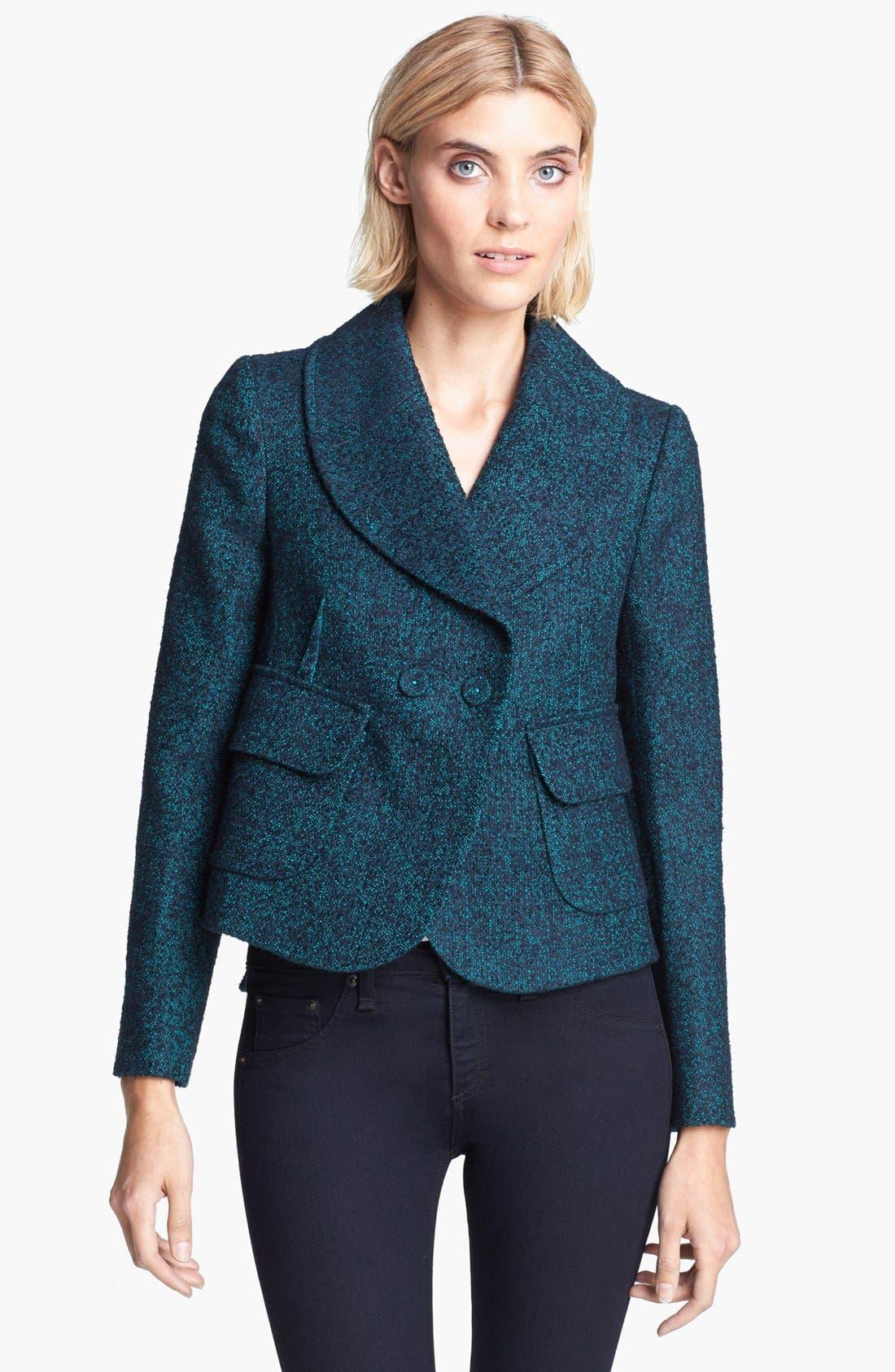 Alternate Image 2  - Carven Tweed Jacket