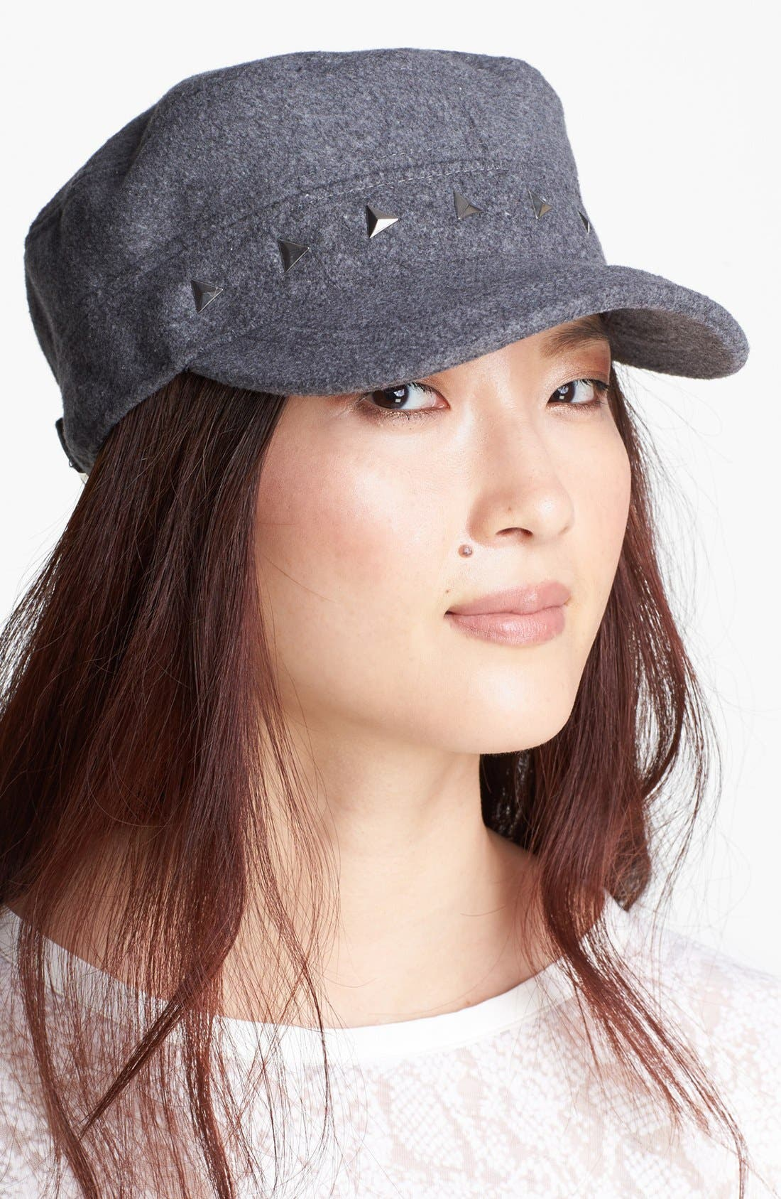 Main Image - Tarnish Studded Cap
