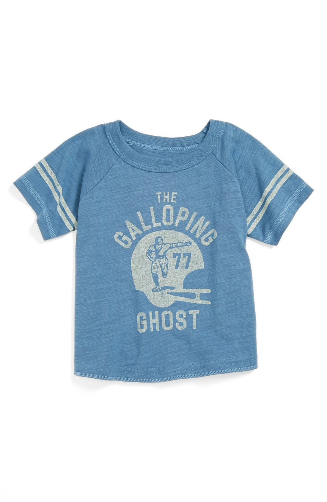 Alternate Image 1 Selected - Peek 'Galloping Ghost' T-Shirt (Baby Boys)