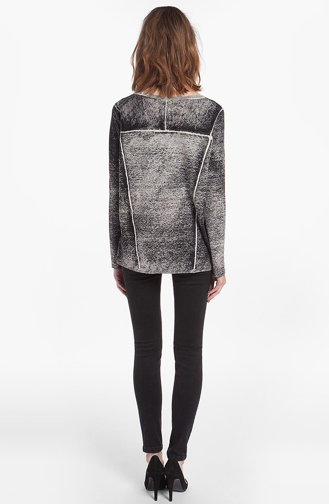 Alternate Image 3  - maje 'Derbie' Silk Blend Sweater