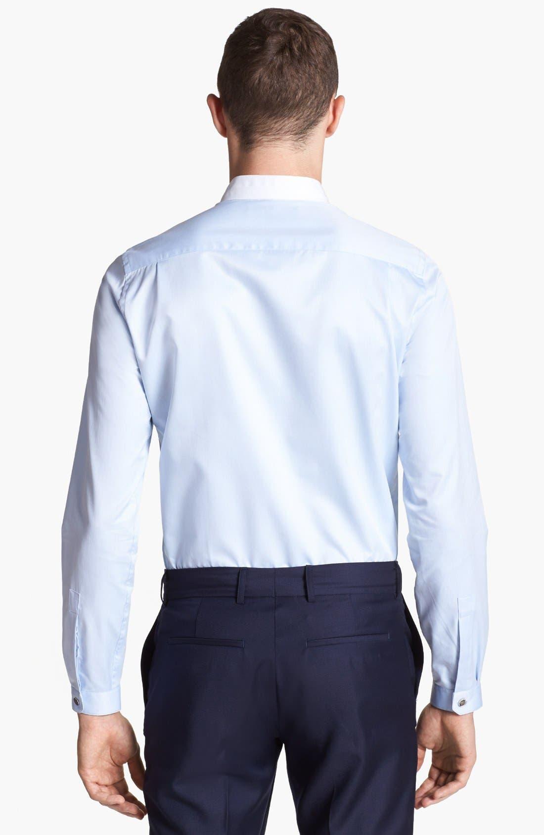 Alternate Image 2  - The Kooples Round Collar Dress Shirt