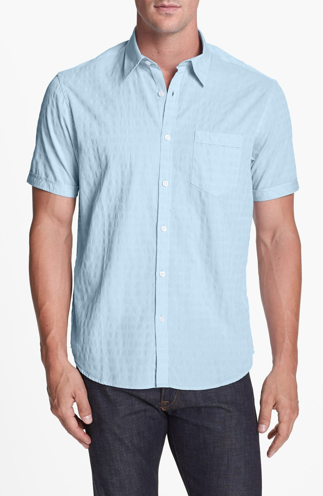 Alternate Image 1 Selected - James Campbell Short Sleeve Sport Shirt
