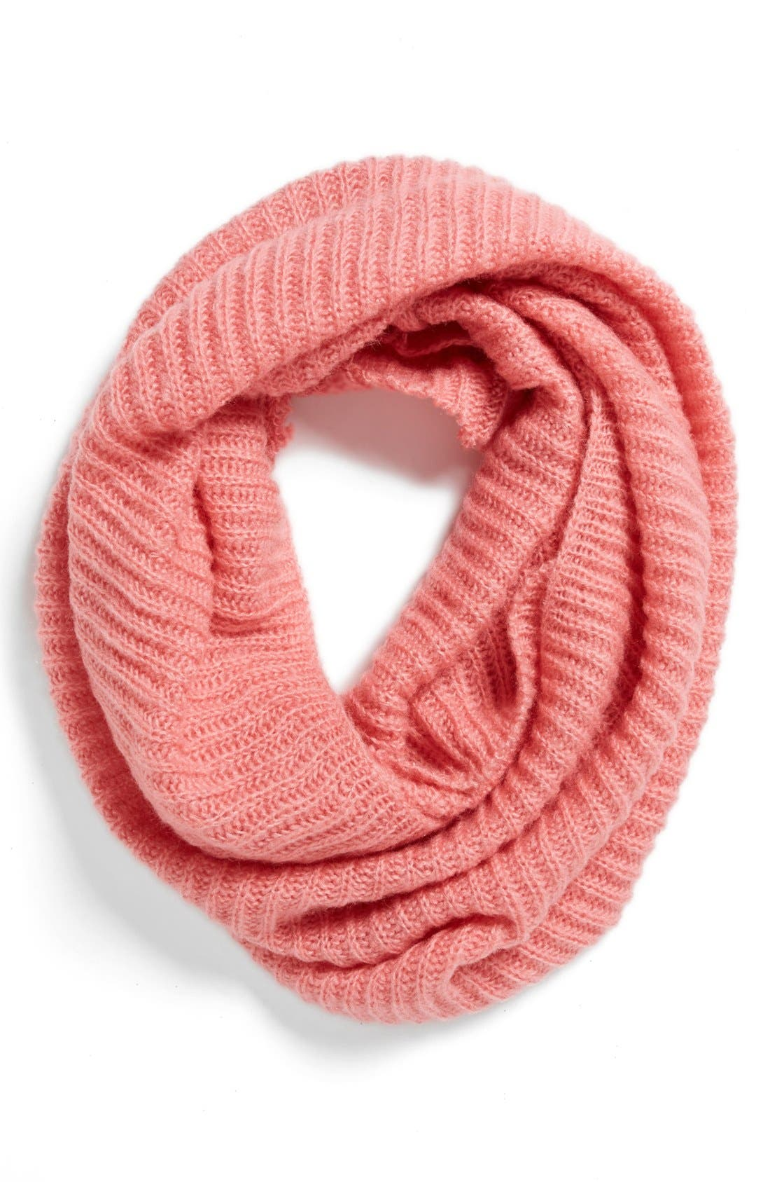 Alternate Image 1 Selected - BP. Ribbed Infinity Scarf (Juniors)