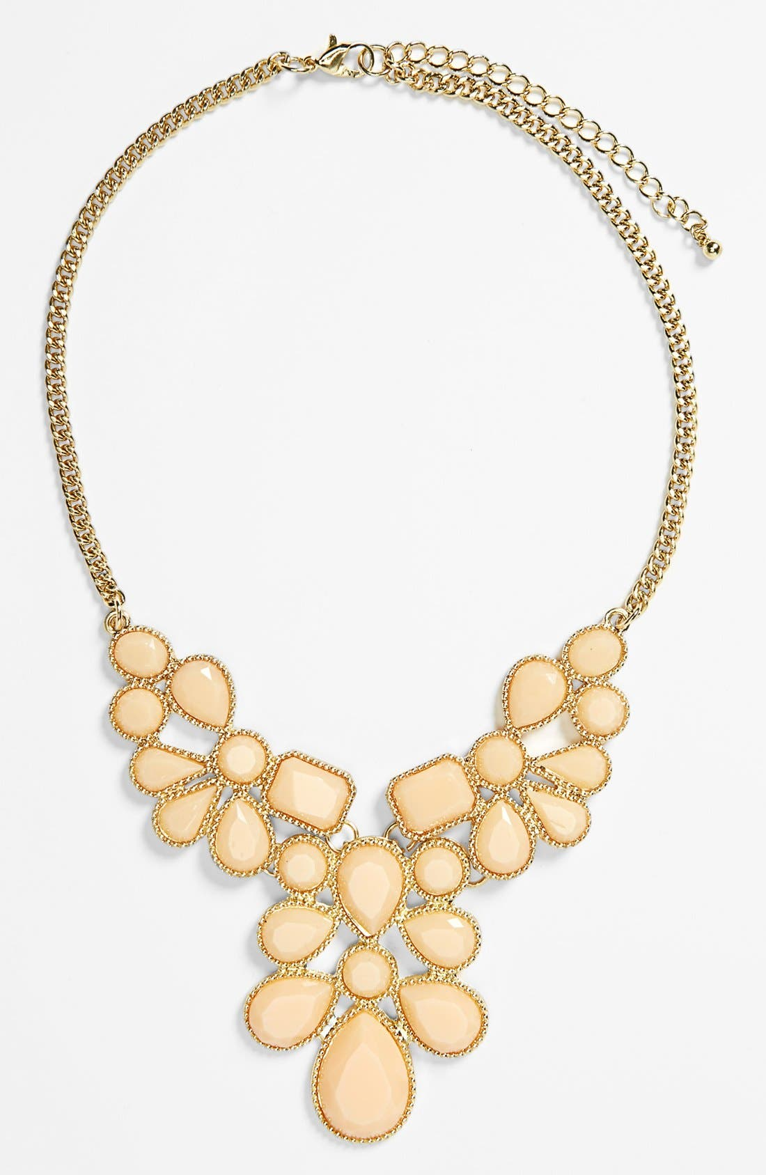 Alternate Image 1 Selected - Kool Konnections Bib Statement Necklace (Juniors)