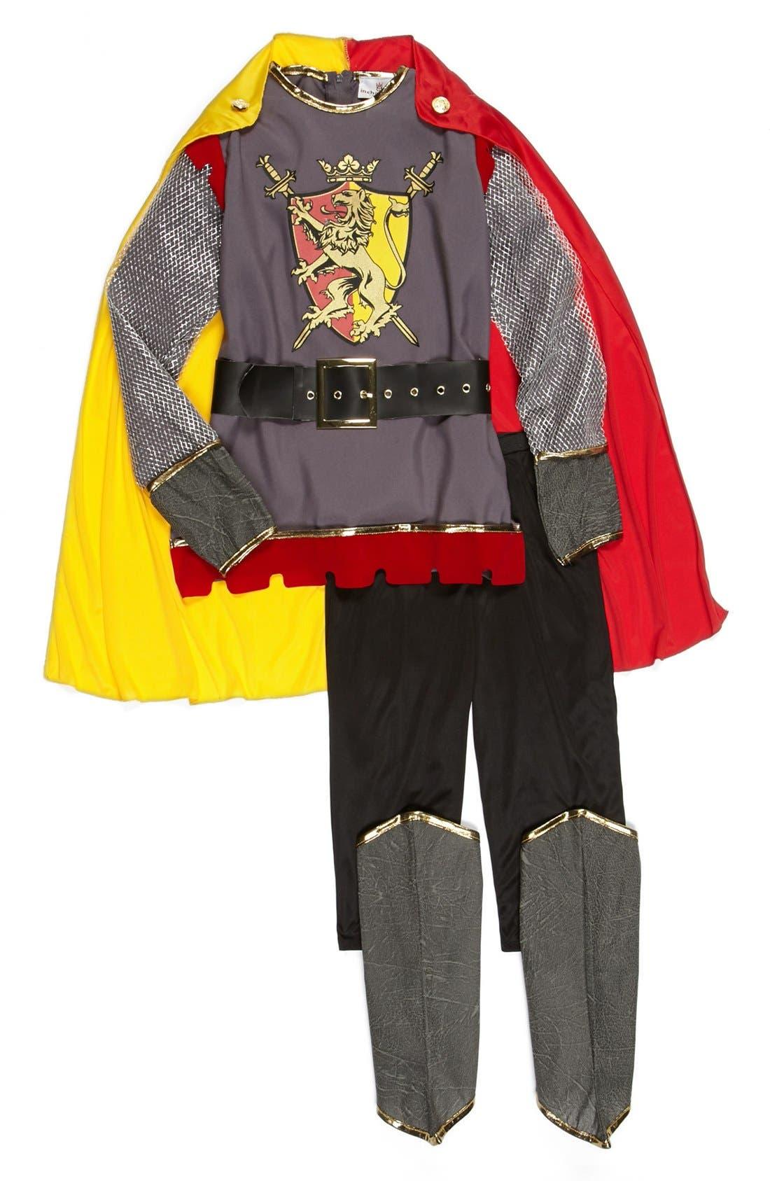 Alternate Image 2  - InCharacter Costumes 'Loyal Knight' Tunic, Cape & Pants (Little Boys & Big Boys)