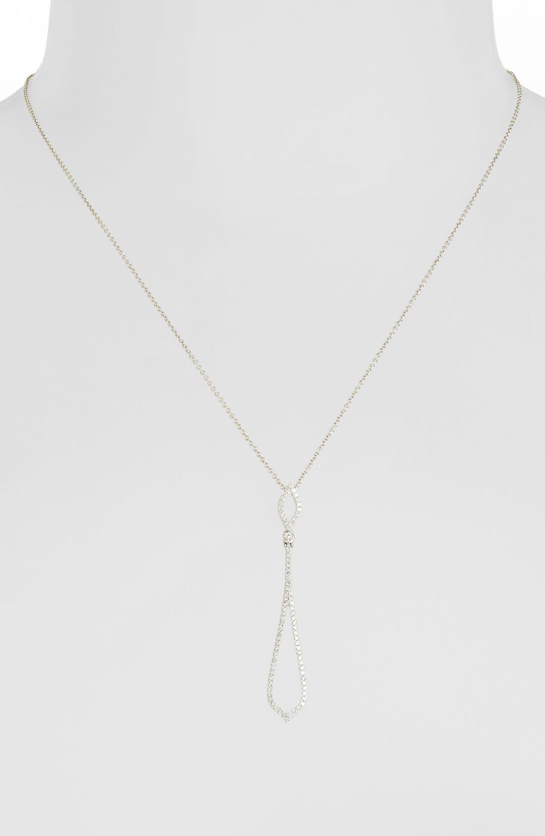 Alternate Image 2  - Bony Levy Pavé Diamond Pendant Necklace (Nordstrom Exclusive)