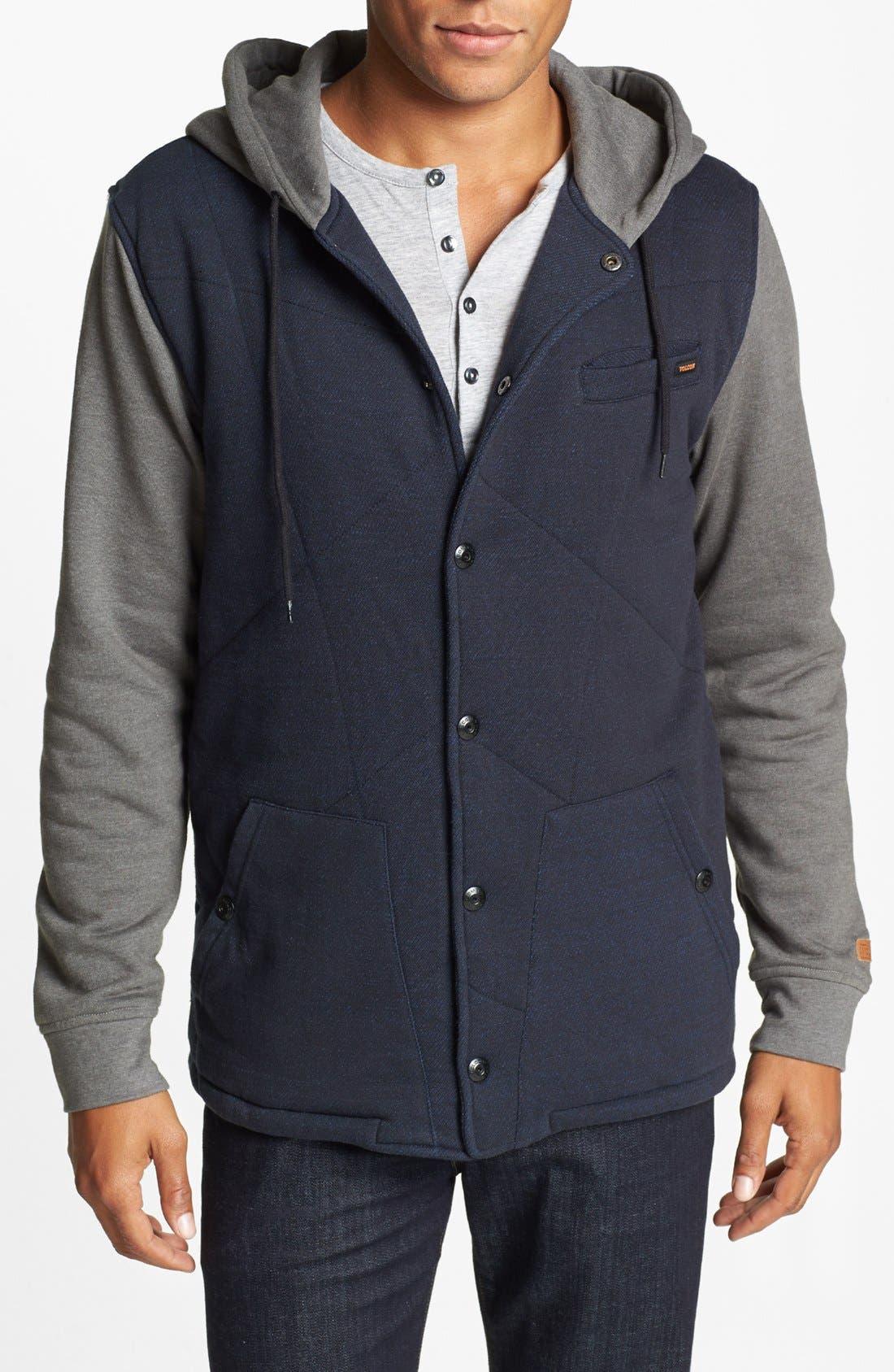 Alternate Image 1 Selected - Volcom 'Barett' Quilted Jacket