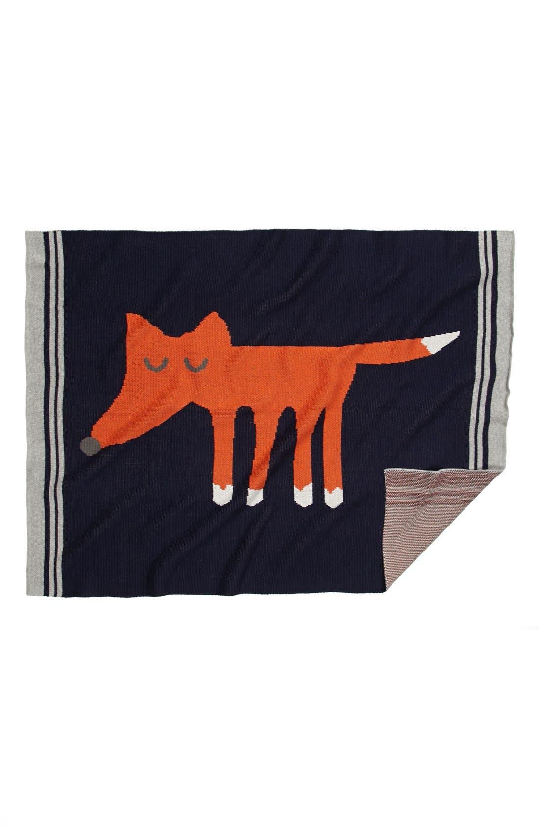 Main Image - Nordstrom Baby Intarsia Knit Blanket