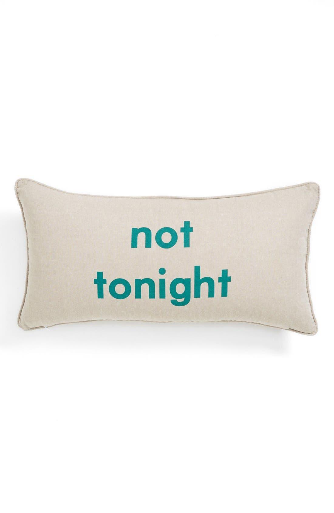 Alternate Image 2  - Levtex 'Tonight/Not Tonight' Pillow