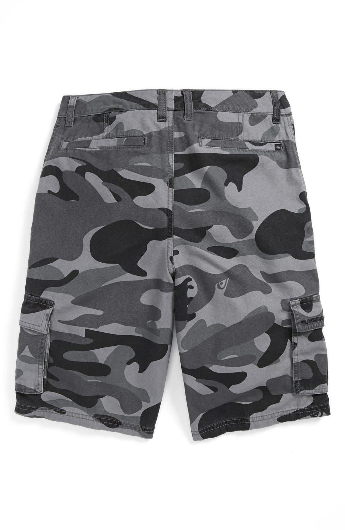 Alternate Image 2  - Quiksilver 'Sue Fley' Camo Shorts (Big Boys)