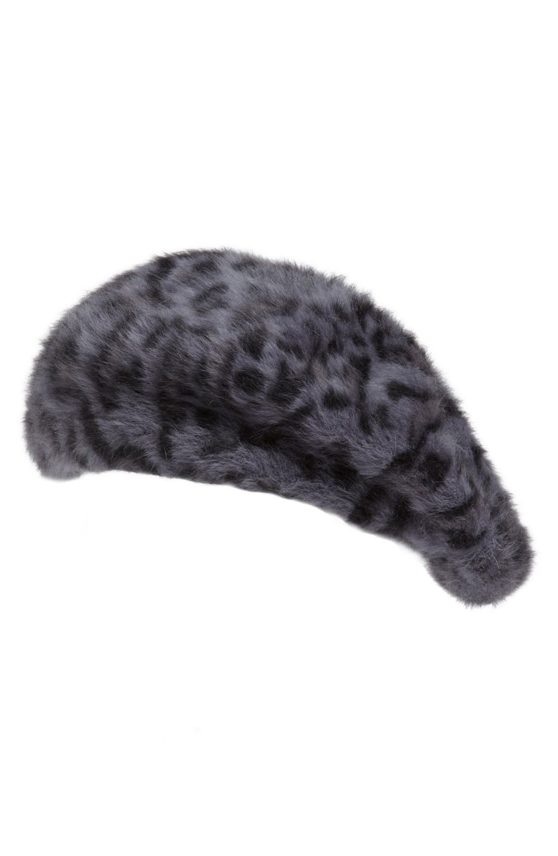 Alternate Image 1 Selected - Parkhurst 'Angelika' Angora Blend Beret