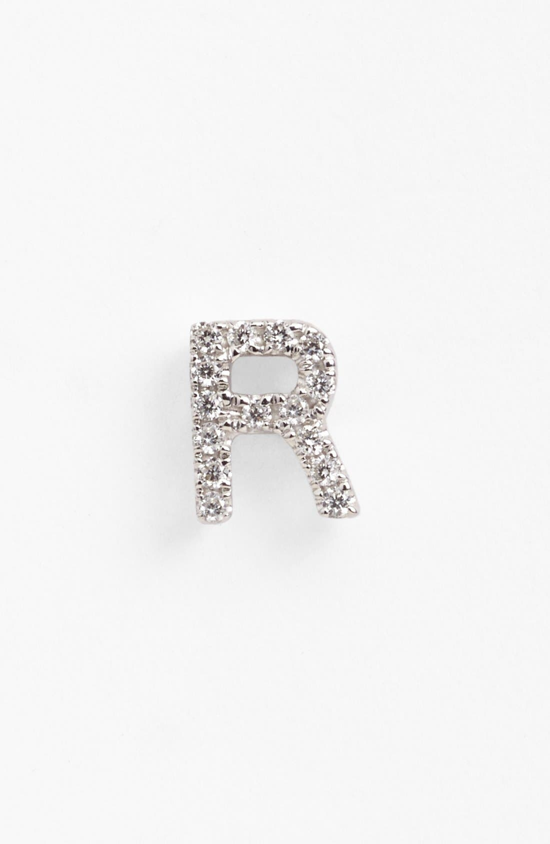 Bony Levy Single Initial Earring (Nordstrom Exclusive)