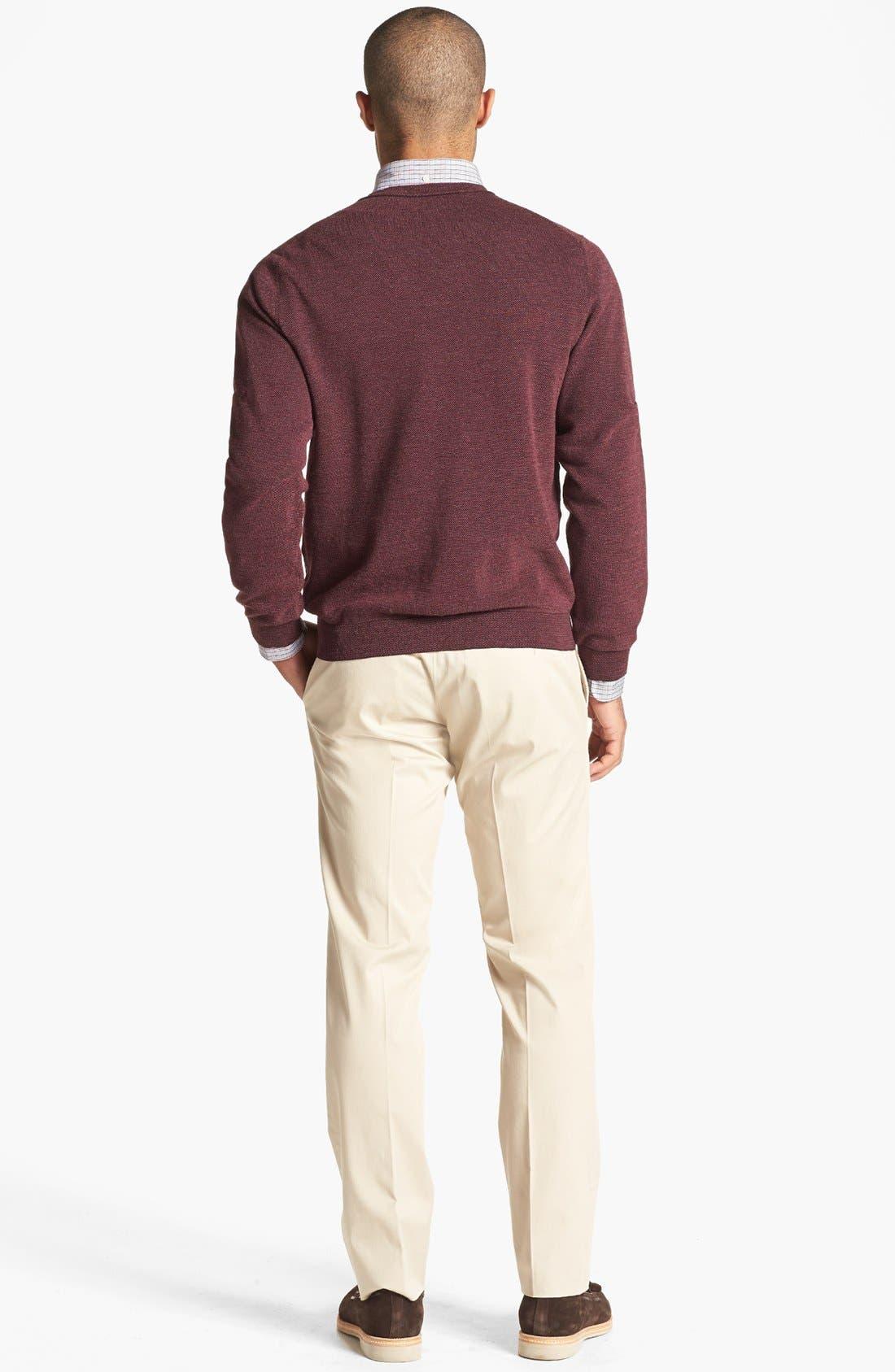 Alternate Image 5  - John W. Nordstrom® Merino Wool Crewneck Sweater