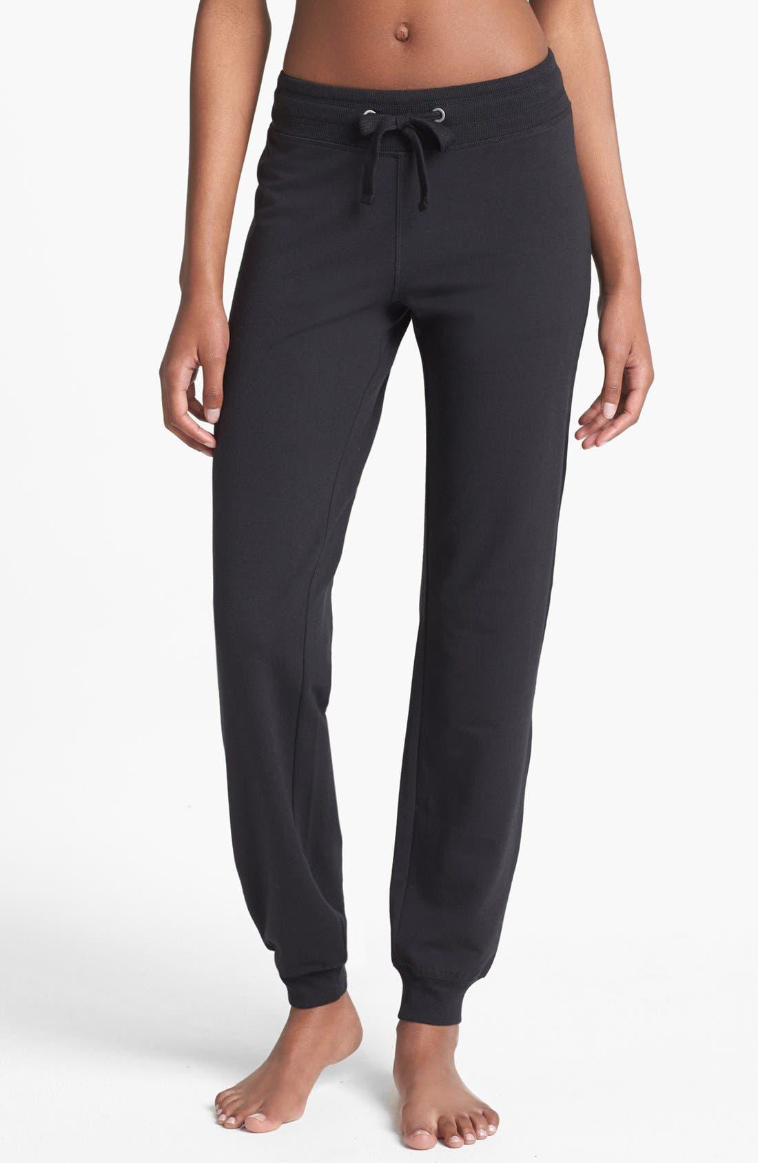 Alternate Image 1 Selected - Alo 'Cozy' Slim Sweatpants