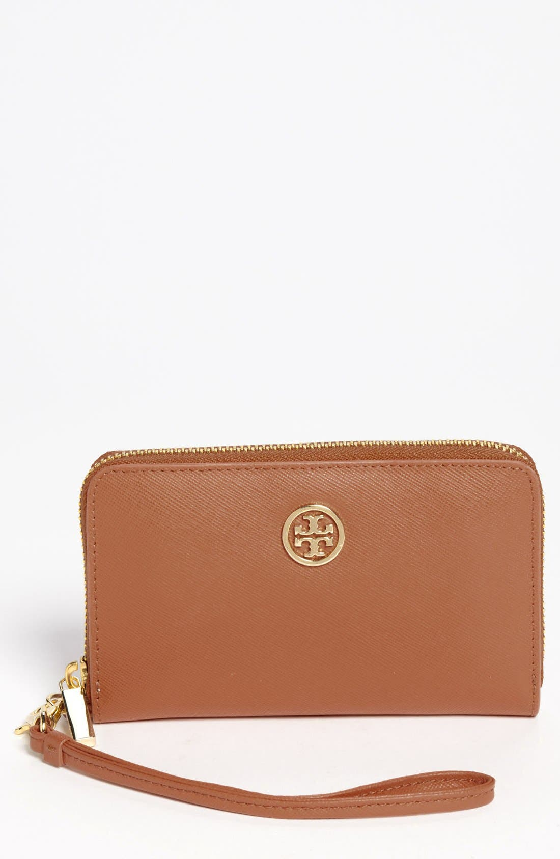 Alternate Image 1 Selected - Tory Burch 'Robinson' Smartphone Wallet