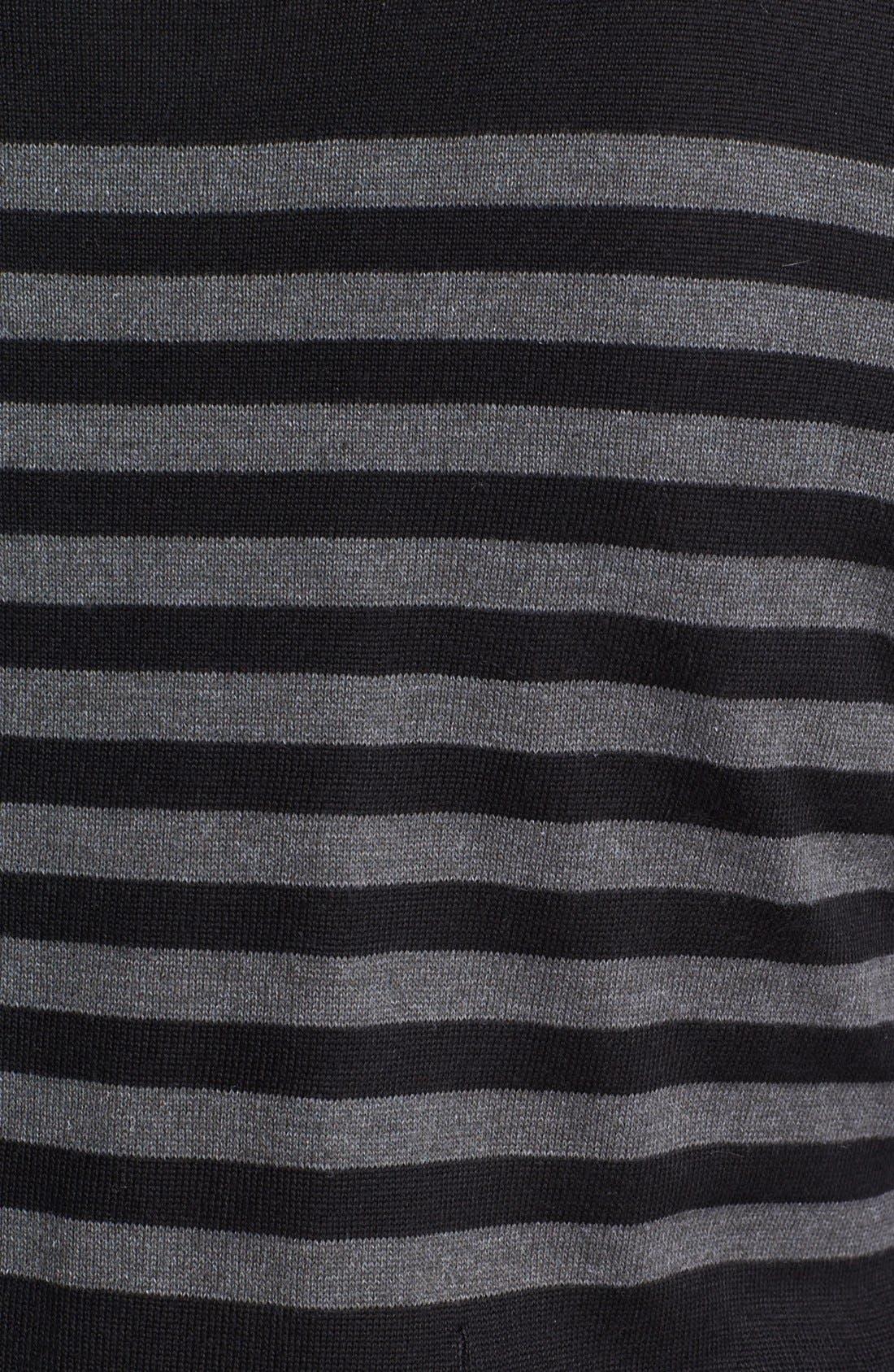 Alternate Image 3  - Eliza J Fit & Flare Sweater Dress (Plus Size)