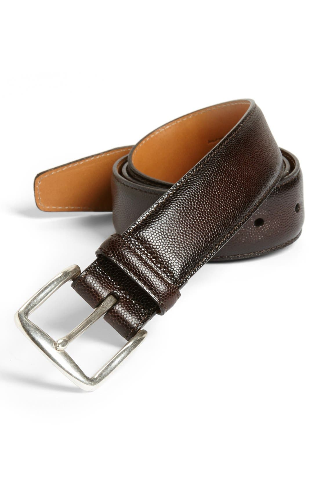 Alternate Image 1 Selected - John W. Nordstrom® Leather Belt