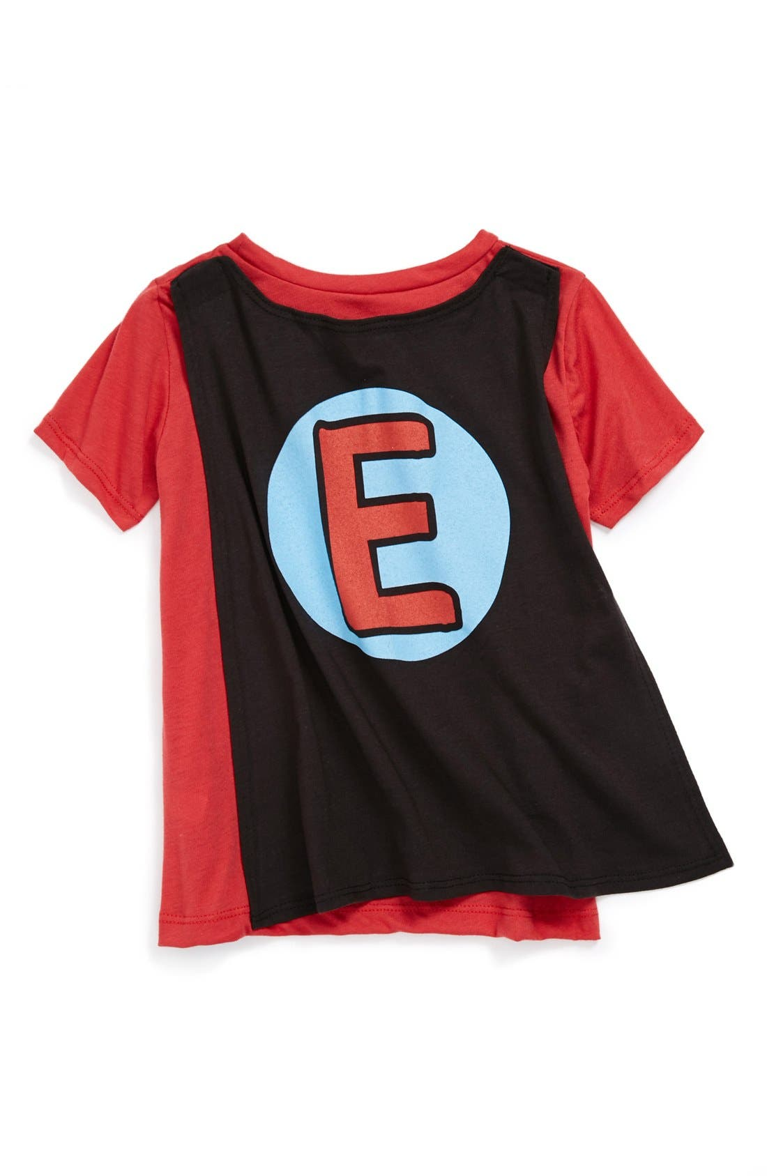 Alternate Image 2  - Mighty Fine 'Elmo Pow' Caped T-Shirt (Toddler Boys)