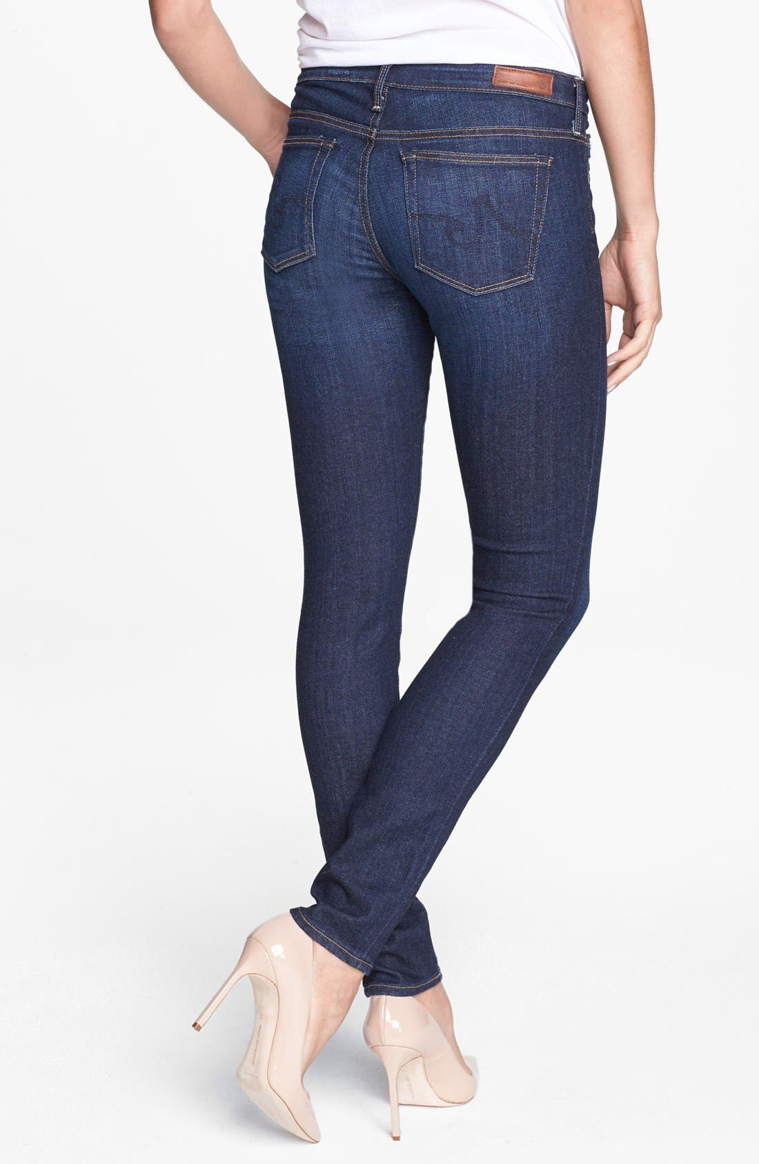 'The Stilt' Cigarette Leg Jeans,                             Alternate thumbnail 2, color,                             Free