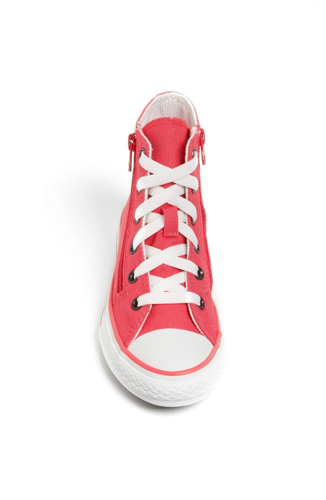 Alternate Image 3  - Converse Chuck Taylor® All Star® High Top Sneaker (Toddler, Little Kid & Big Kid)