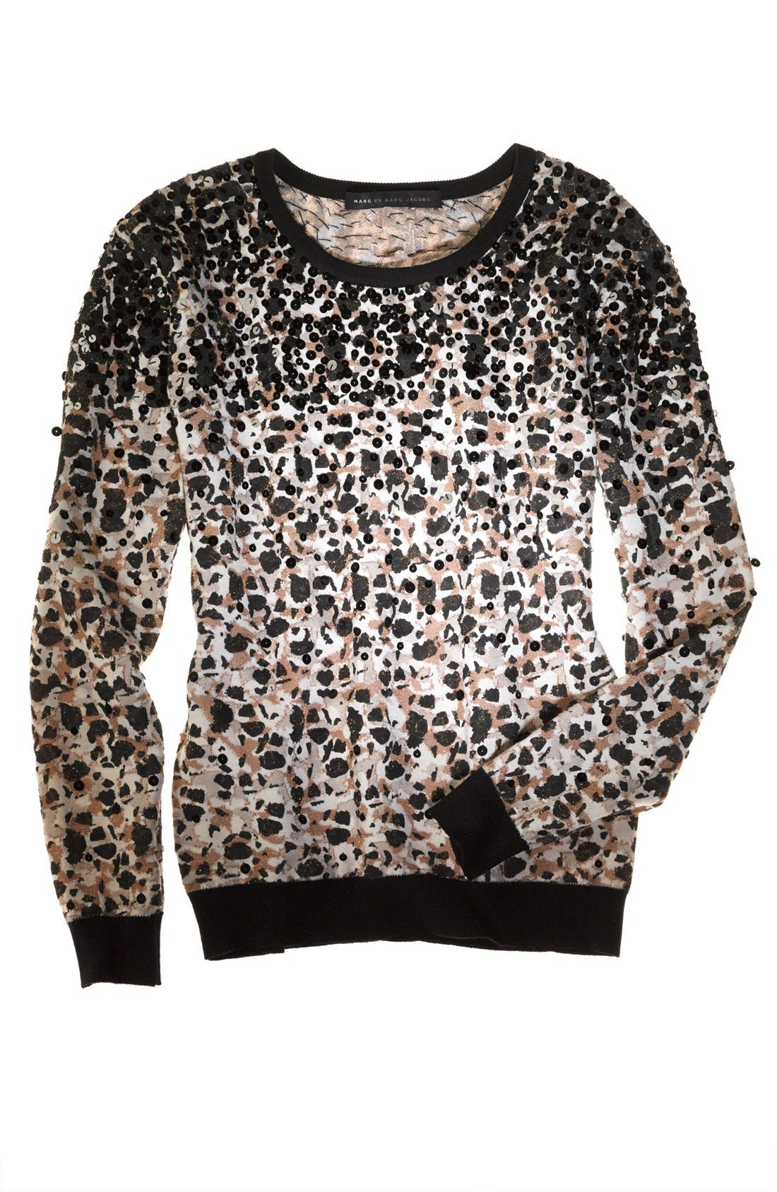 Alternate Image 5  - MARC BY MARC JACOBS 'Isa' Sequin Crewneck Sweater