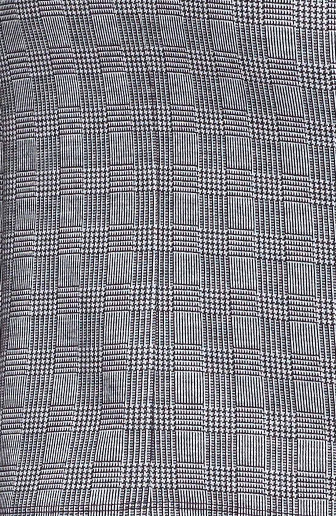 Alternate Image 3  - Vince Camuto Side Zip Glen Plaid Pencil Skirt (Petite) (Nordstrom Exclusive)