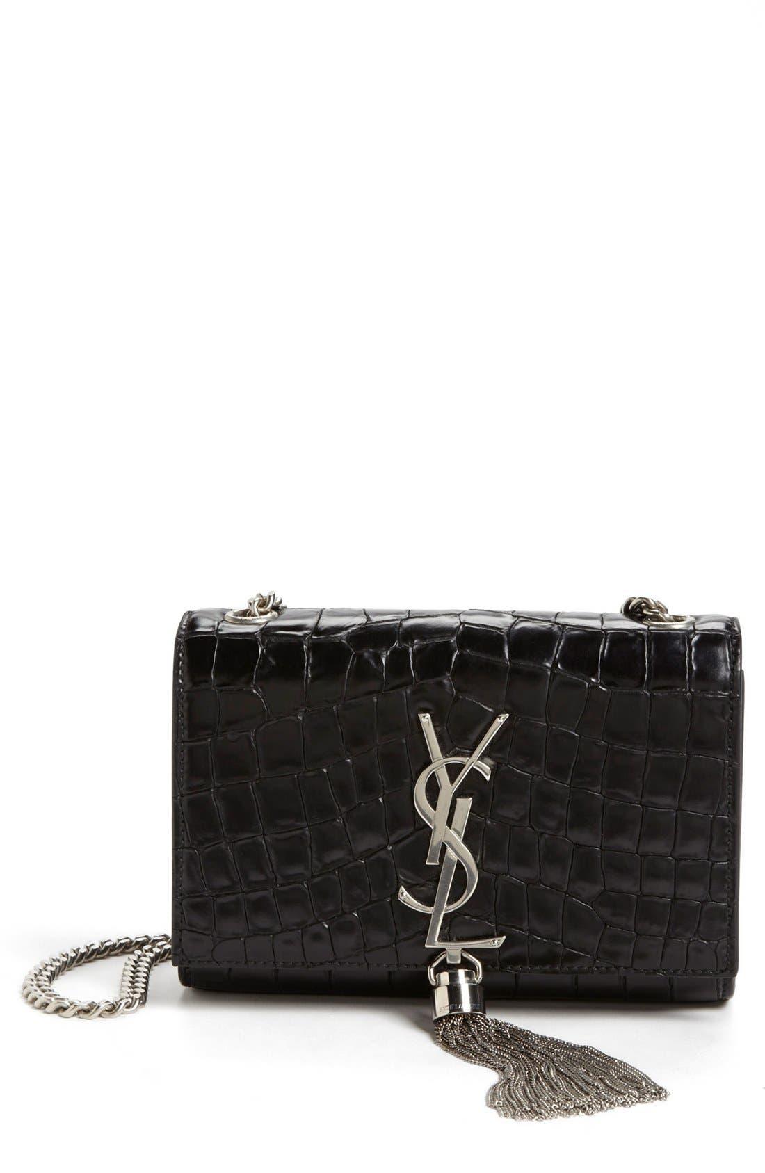 Main Image - Saint Laurent 'Cassandre' Shoulder Bag, Small