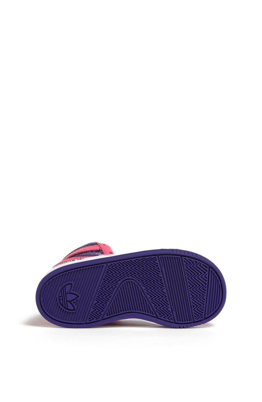 Alternate Image 4  - adidas 'Court Attitude' Sneaker (Baby, Walker & Toddler)