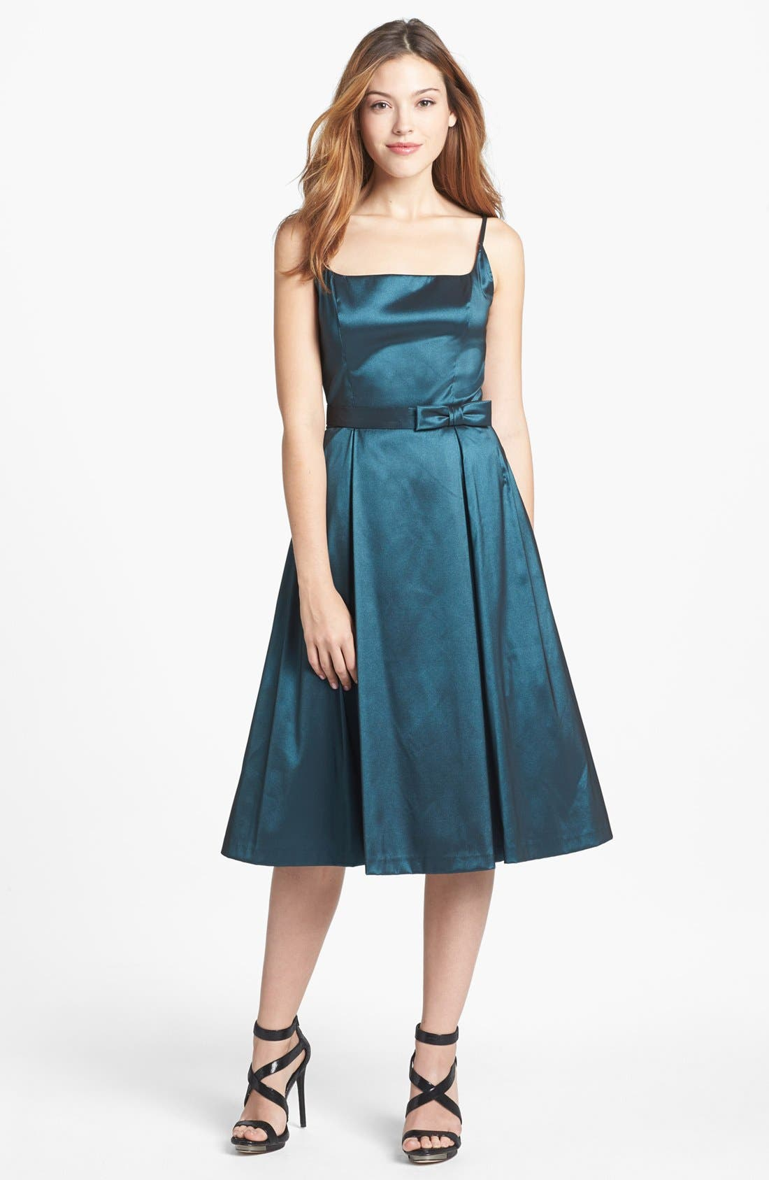 Main Image - Maggy London Taffeta Fit & Flare Dress