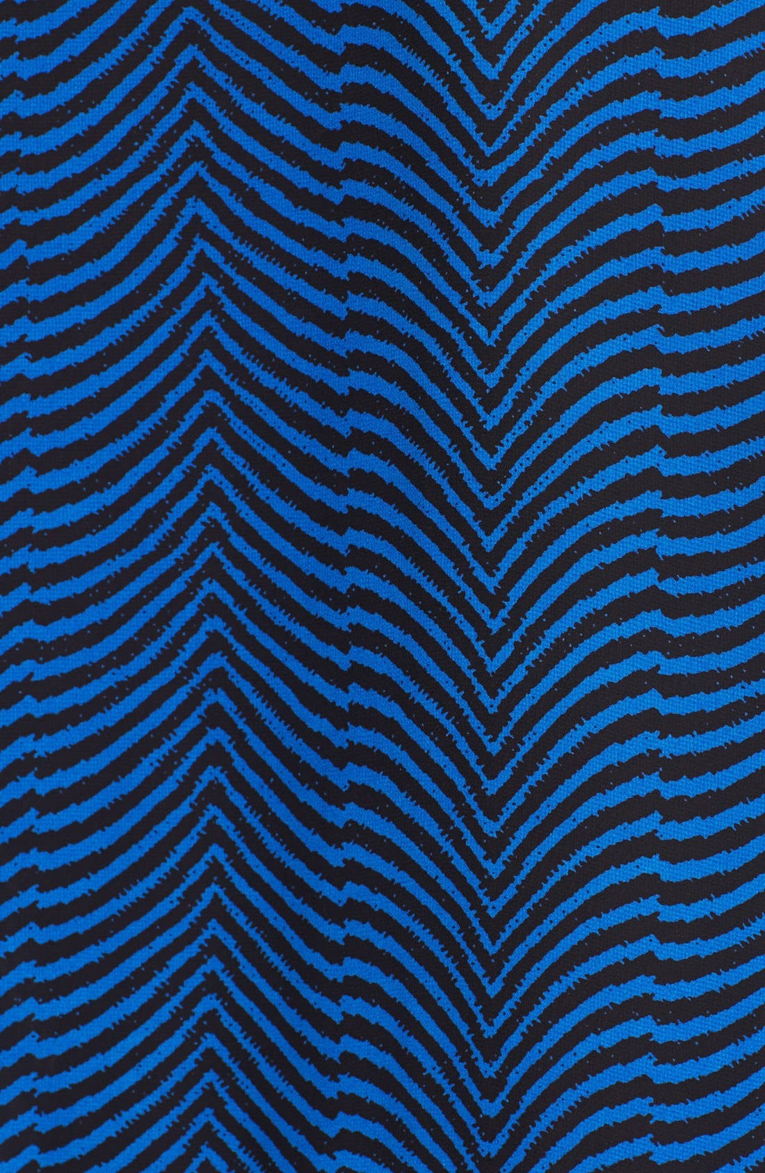 Alternate Image 3  - Vince Camuto Zigzag Print Wrap Front Blouse