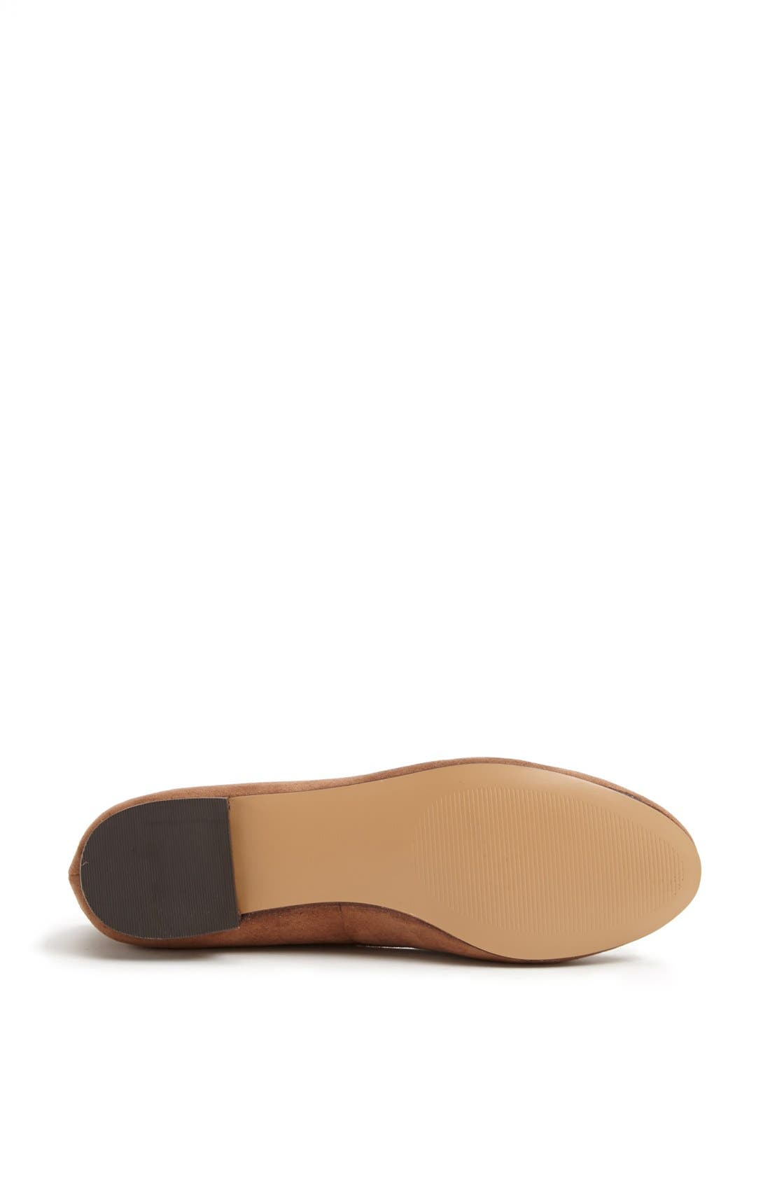 Alternate Image 4  - Julianne Hough for Sole Society 'Cambria' Smoking Slipper Flat