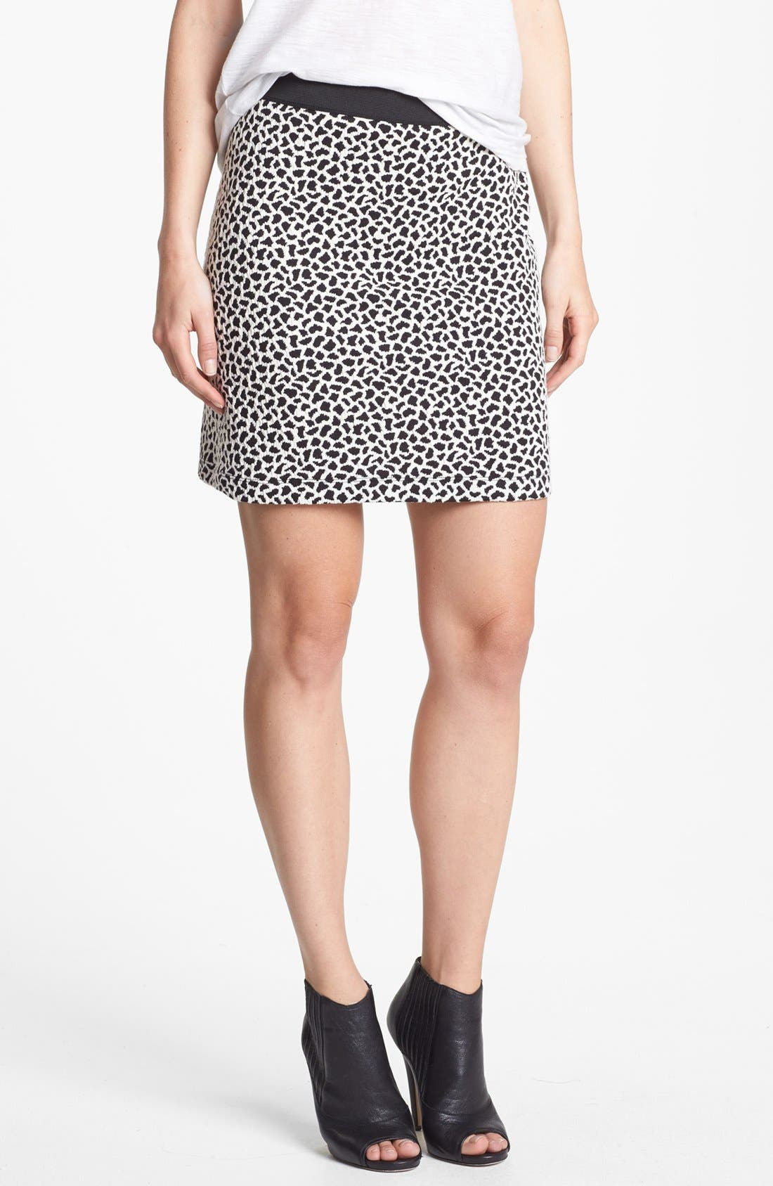 Main Image - Two by Vince Camuto Jacquard Miniskirt