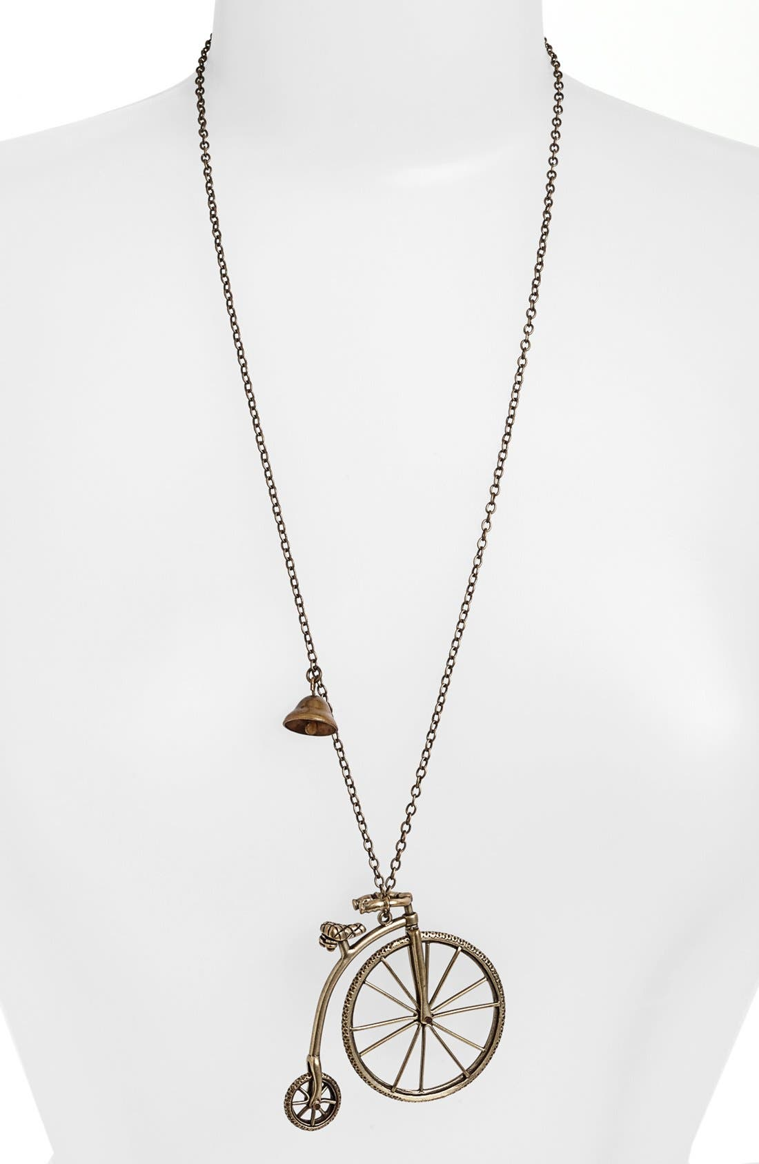 Alternate Image 1 Selected - Nordstrom 'Antique Conversation' Bicycle Pendant Necklace
