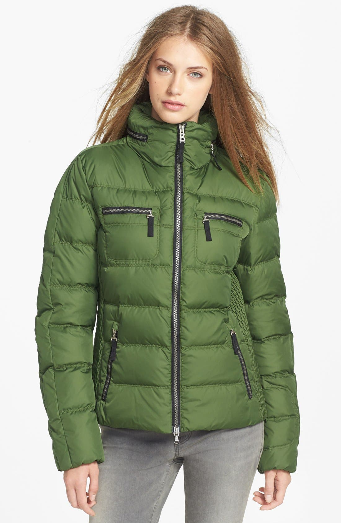 Alternate Image 1 Selected - Bogner Channel Quilted Down Jacket