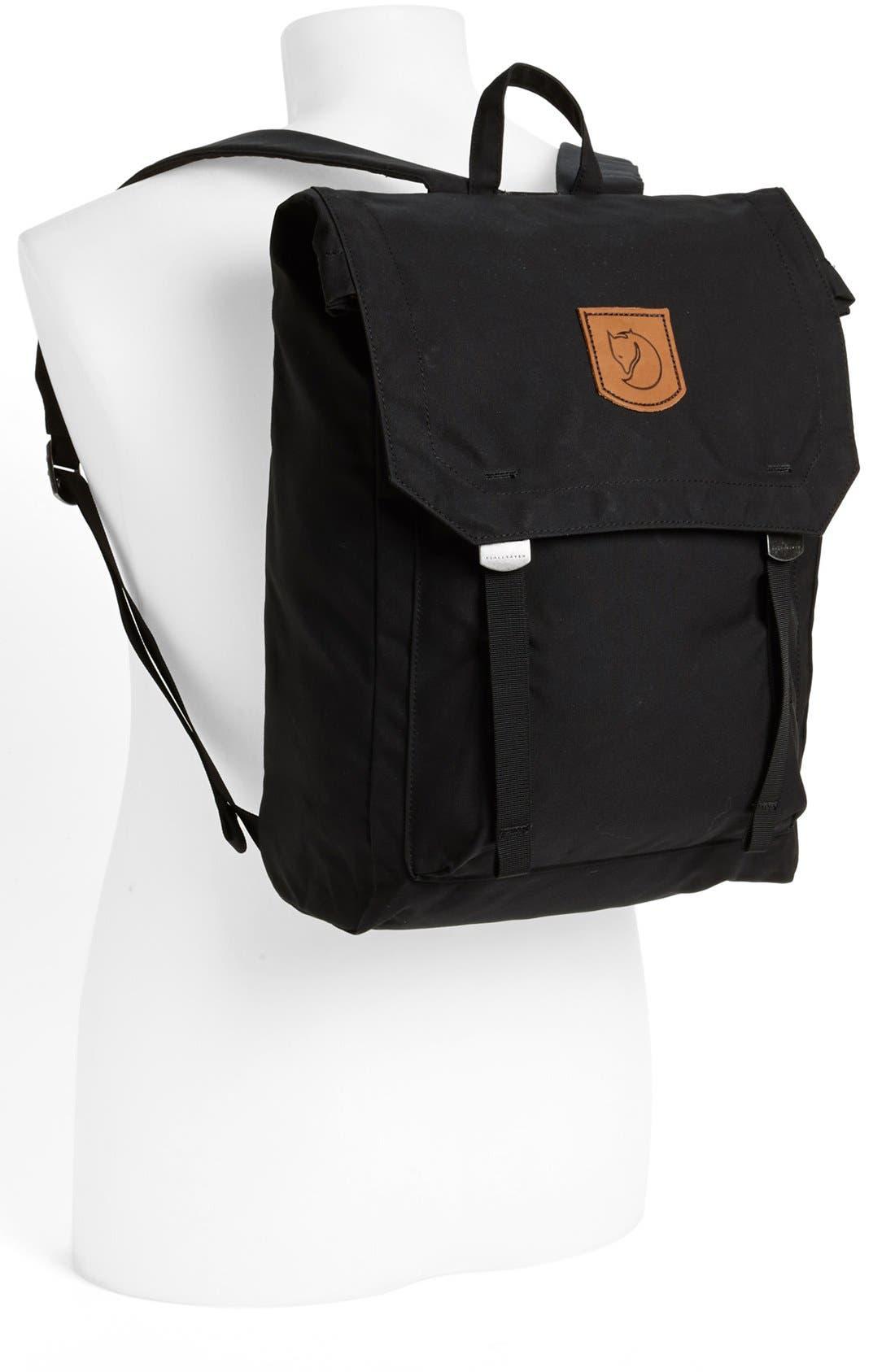 'Foldsack No. 1' Backpack,                             Alternate thumbnail 2, color,                             Black
