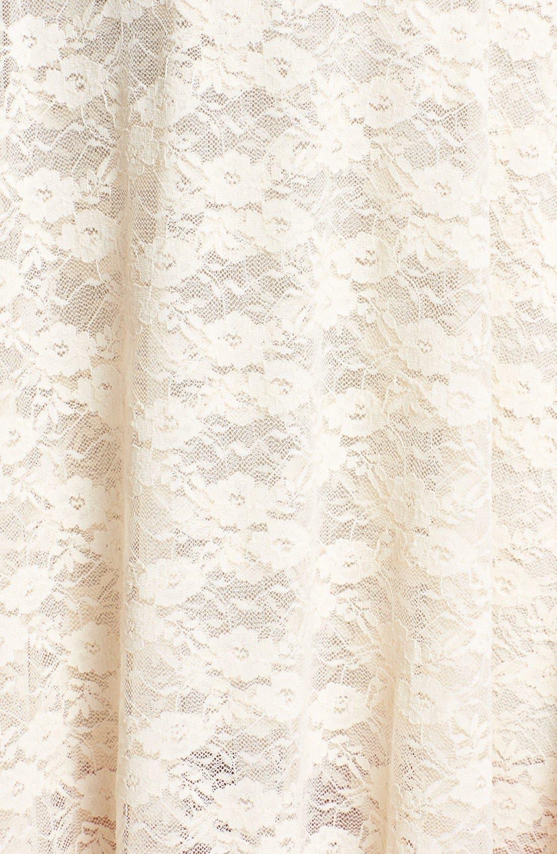 Alternate Image 3  - Free People 'French Court' Lace Slipdress