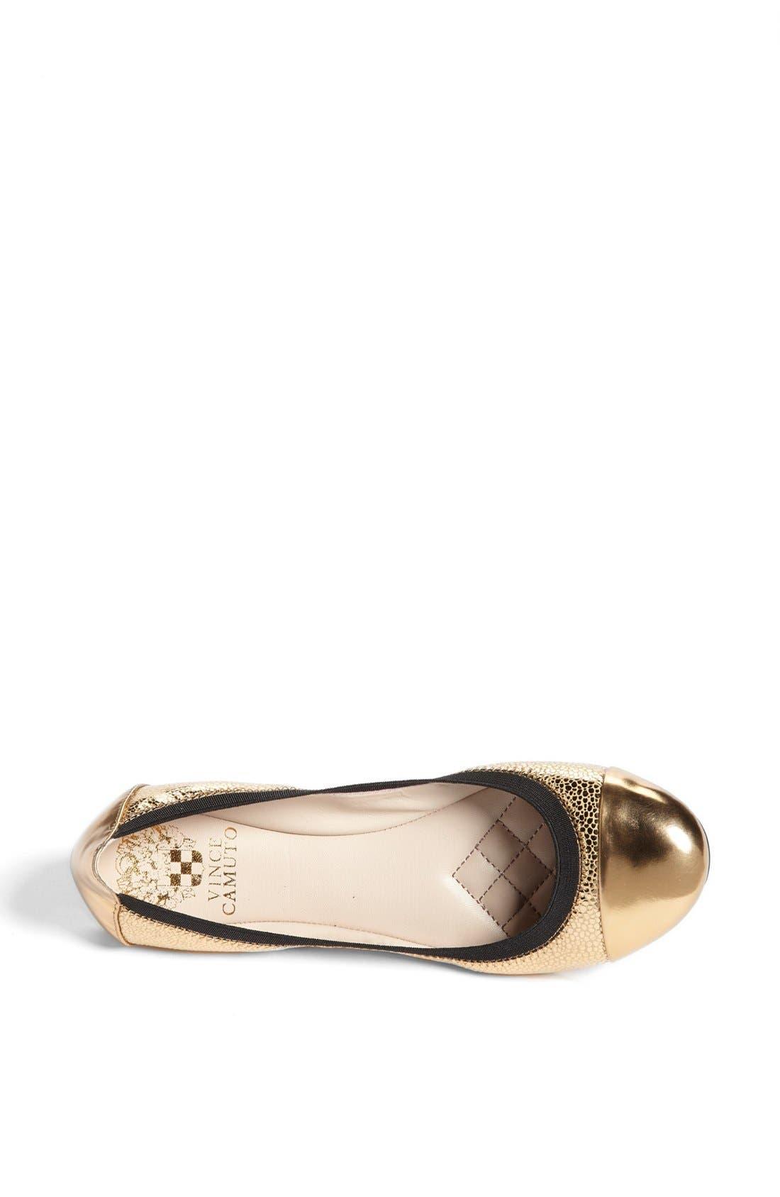 Alternate Image 3  - Vince Camuto 'Elisee' Leather Ballet Flat