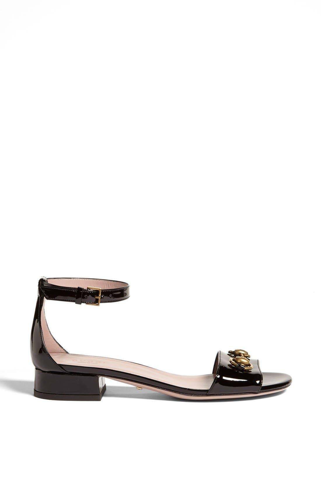 Alternate Image 4  - Gucci 'Liliane' Ankle Strap Sandal