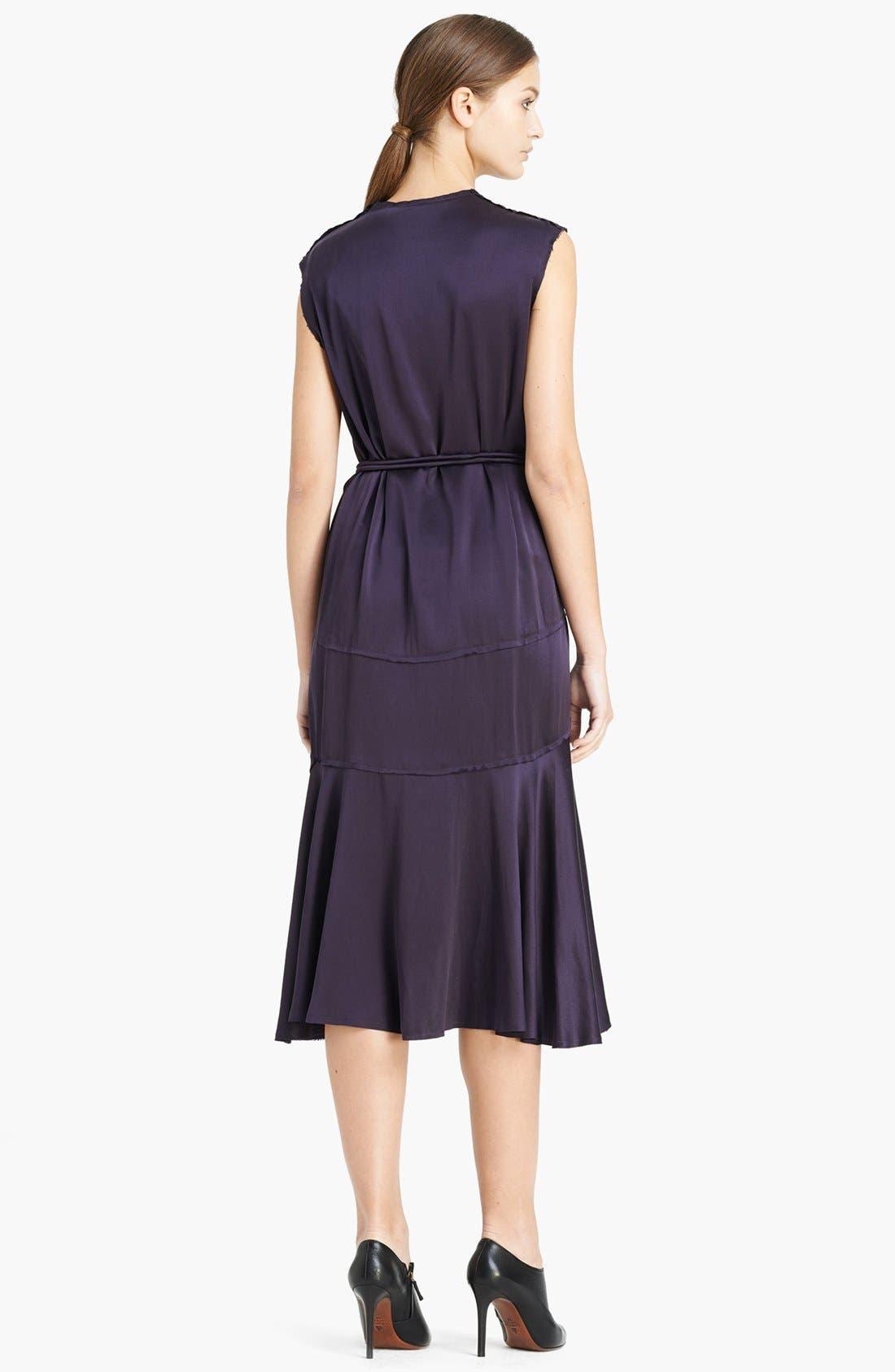 Alternate Image 2  - Lanvin Sleeveless Satin Dress